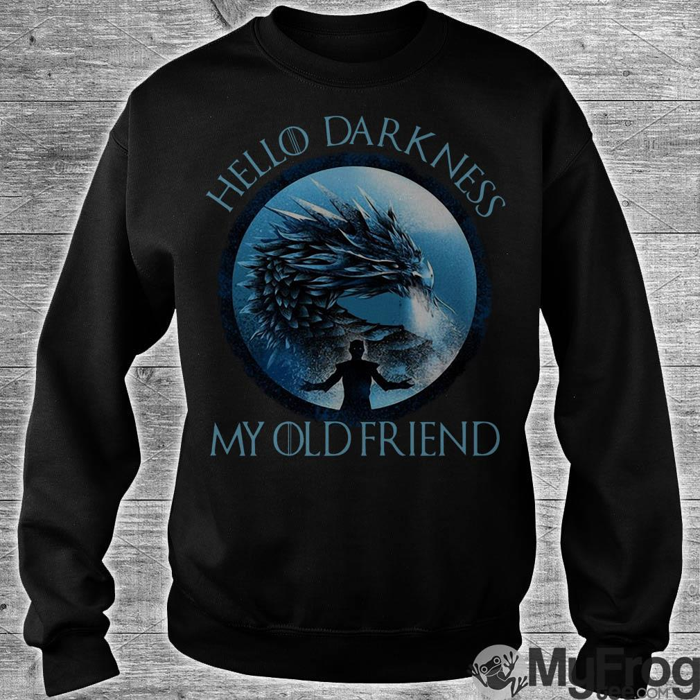 The Night King hello darkness my old friend shirt
