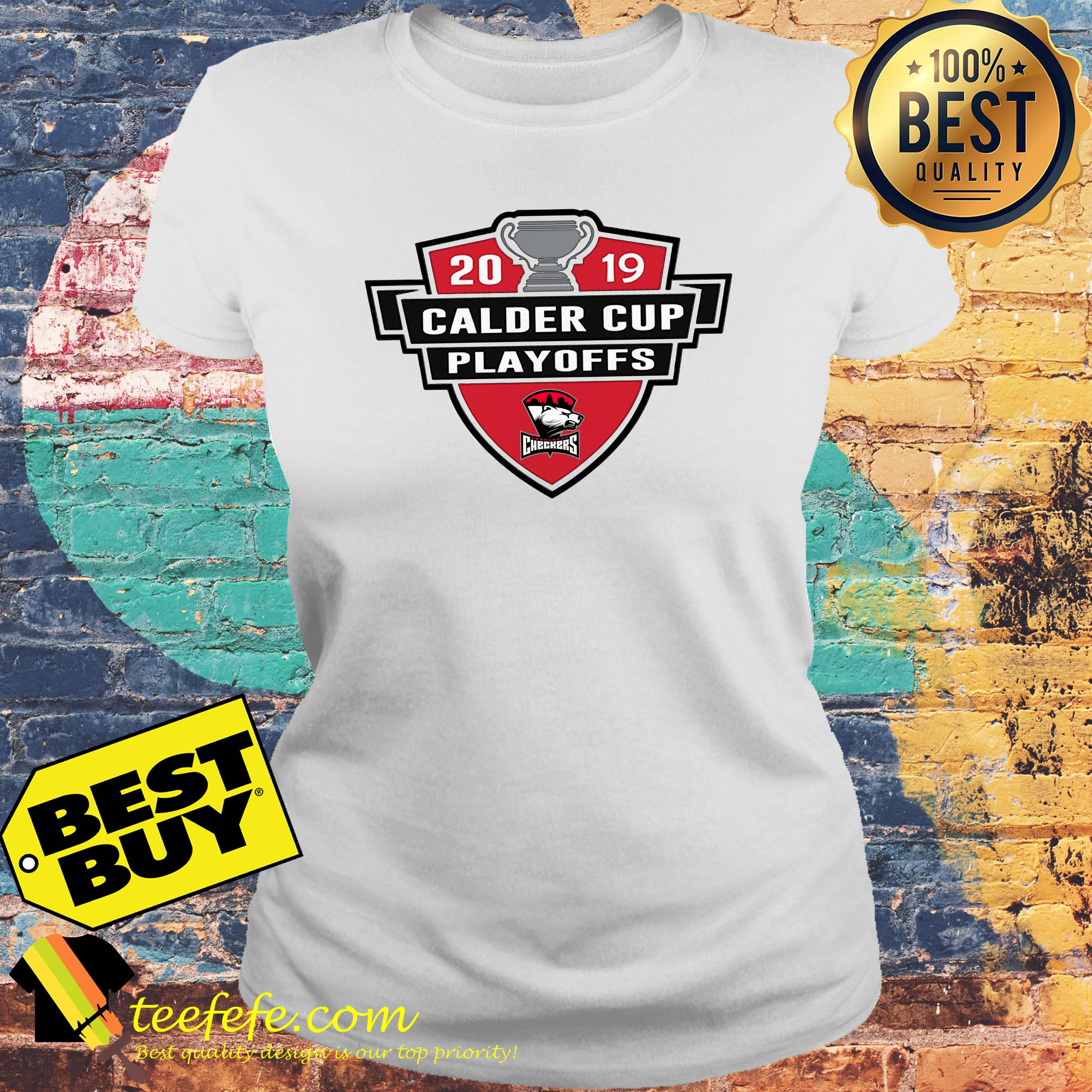 Charlotte Checkers 2019 Calder Cup Playoffs Youth ladies tee