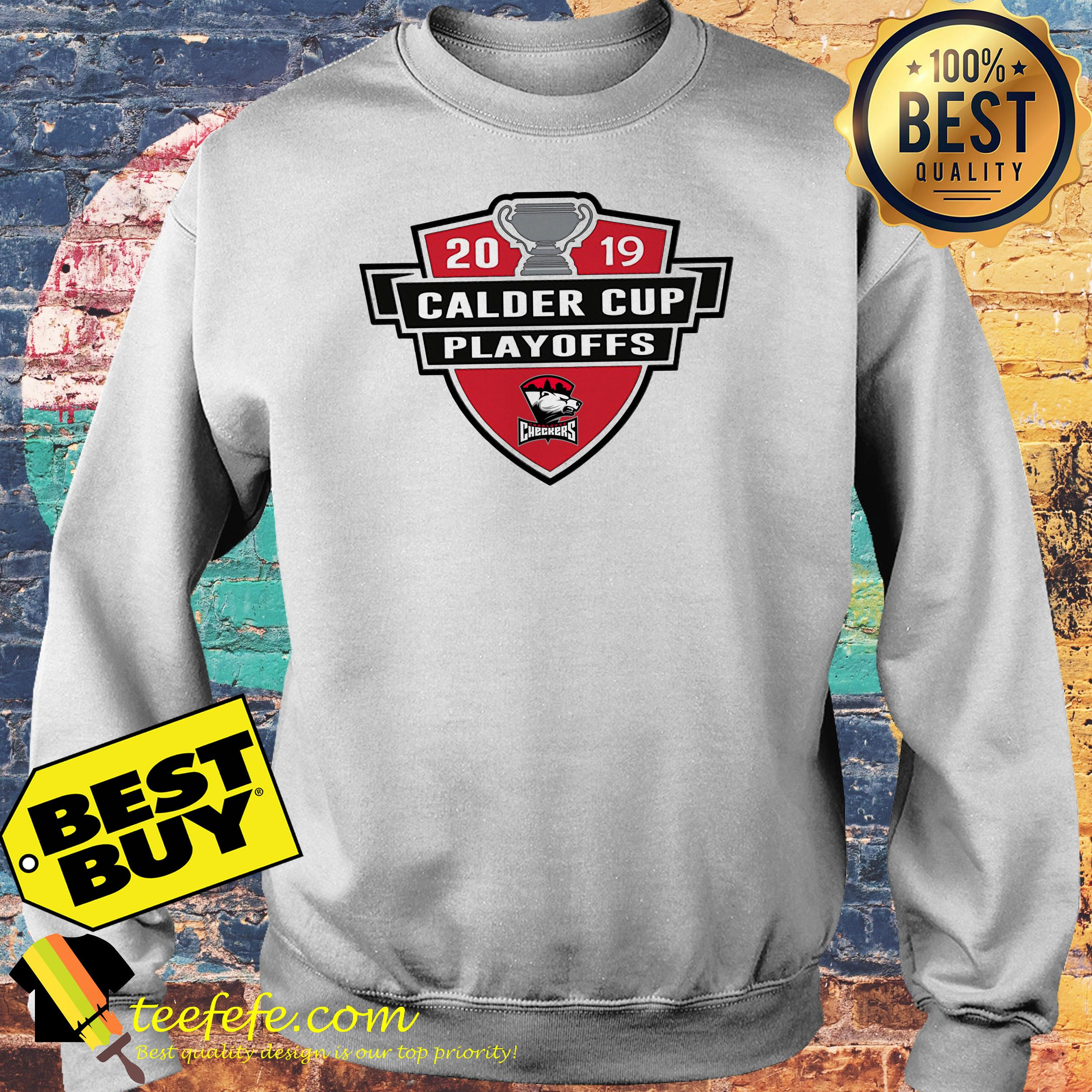 Charlotte Checkers 2019 Calder Cup Playoffs Youth sweatshirt
