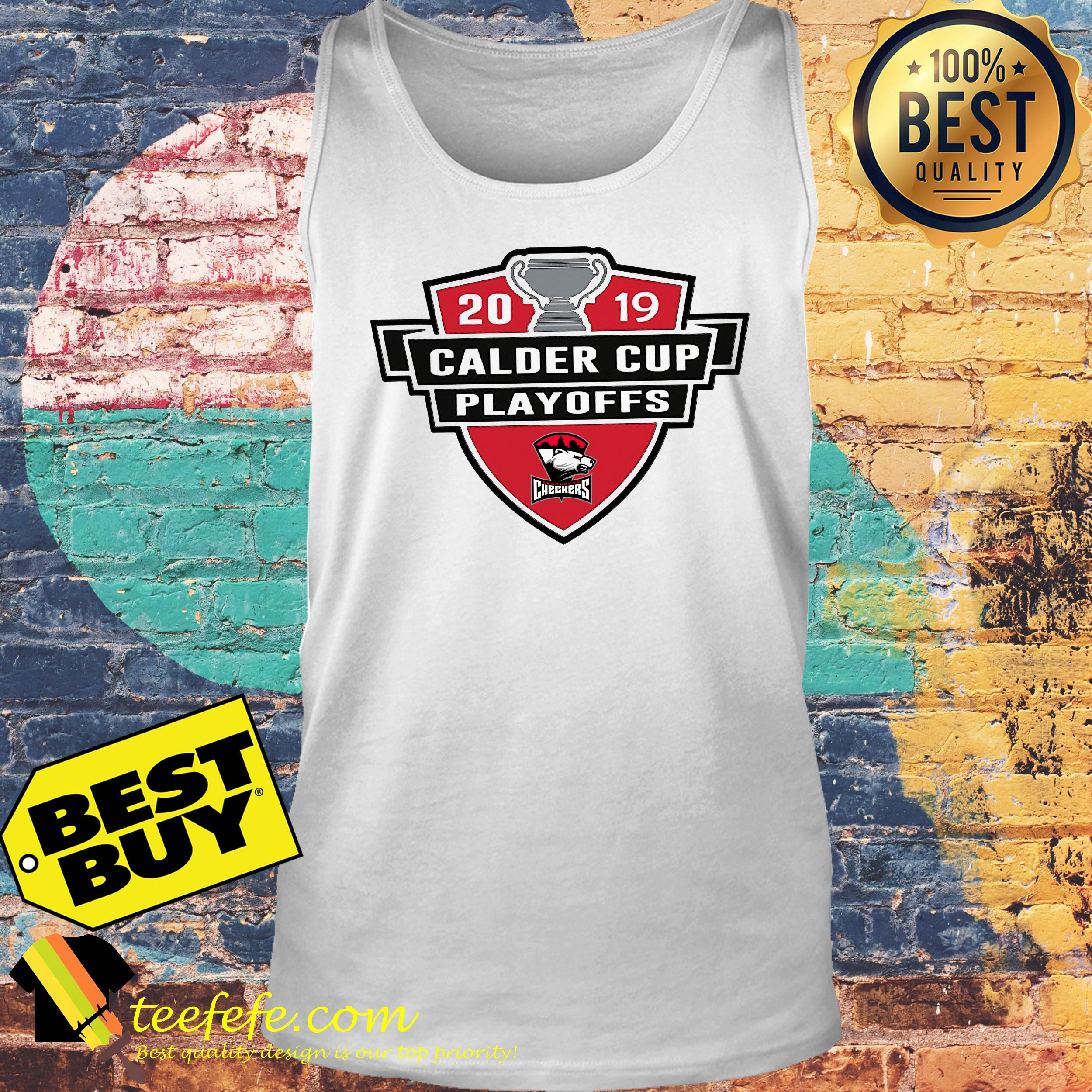Charlotte Checkers 2019 Calder Cup Playoffs Youth tank top