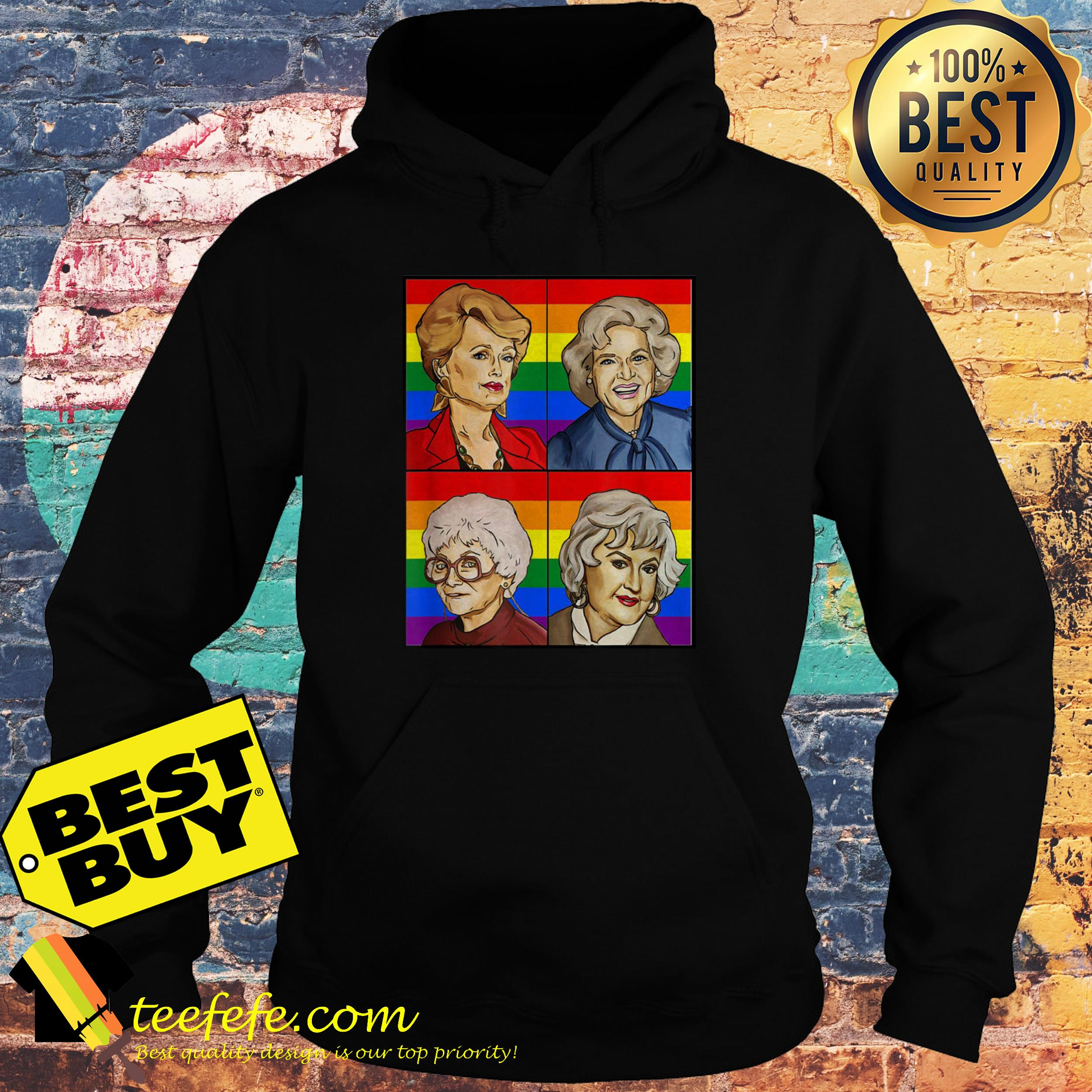 LGBT dragons say lesbian rights hoodie