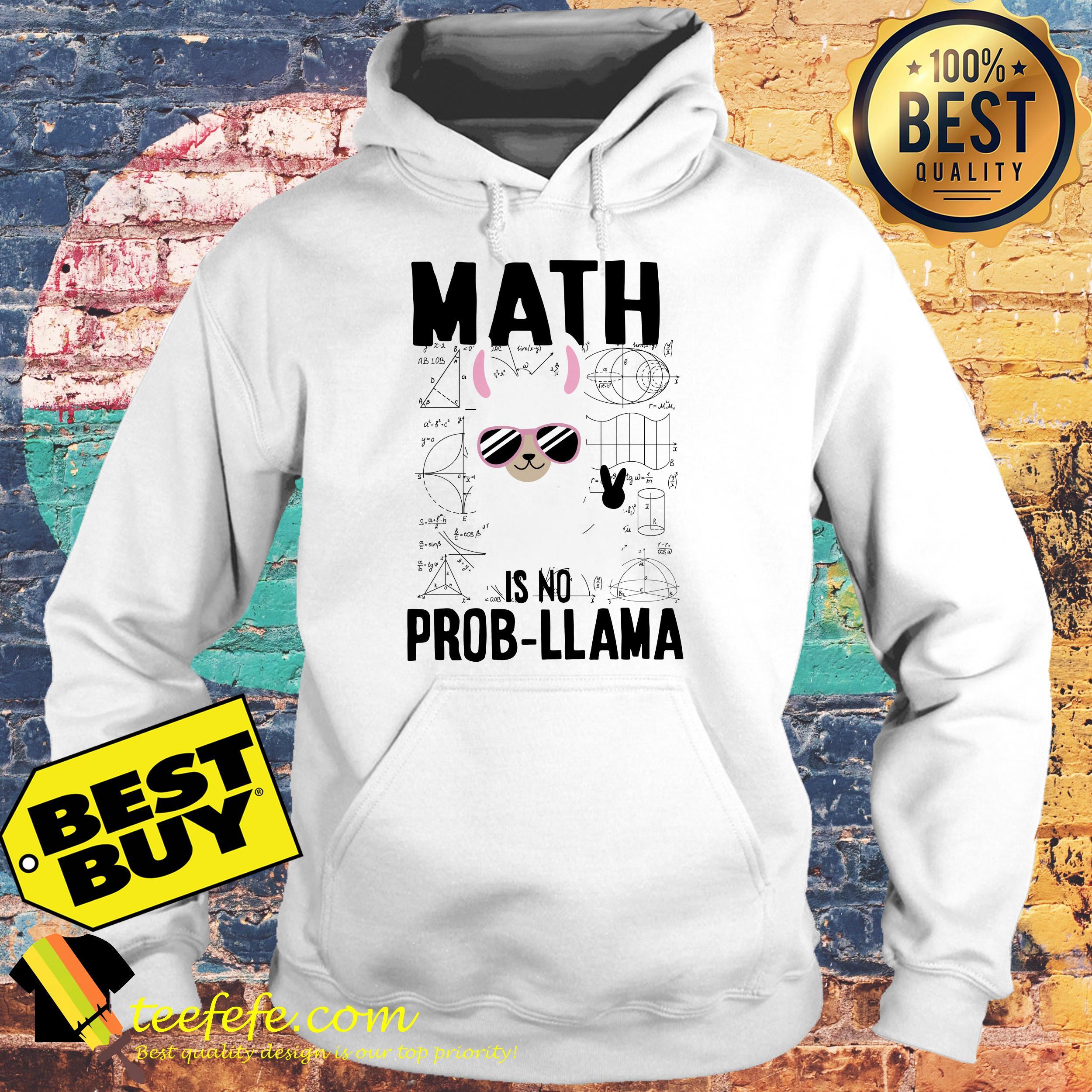Math is no prob-llama hoodie