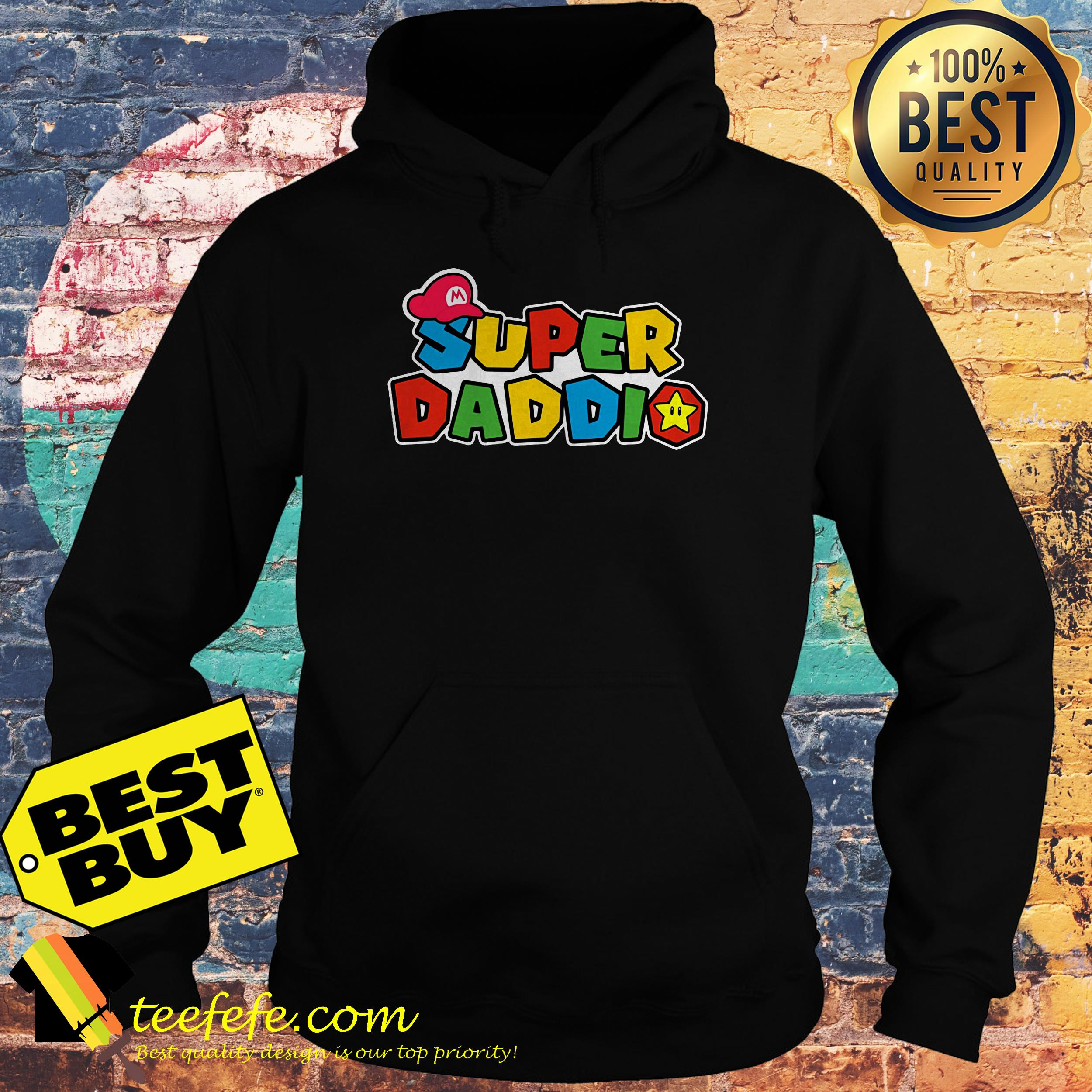 Super Daddio Super Mario hoodie