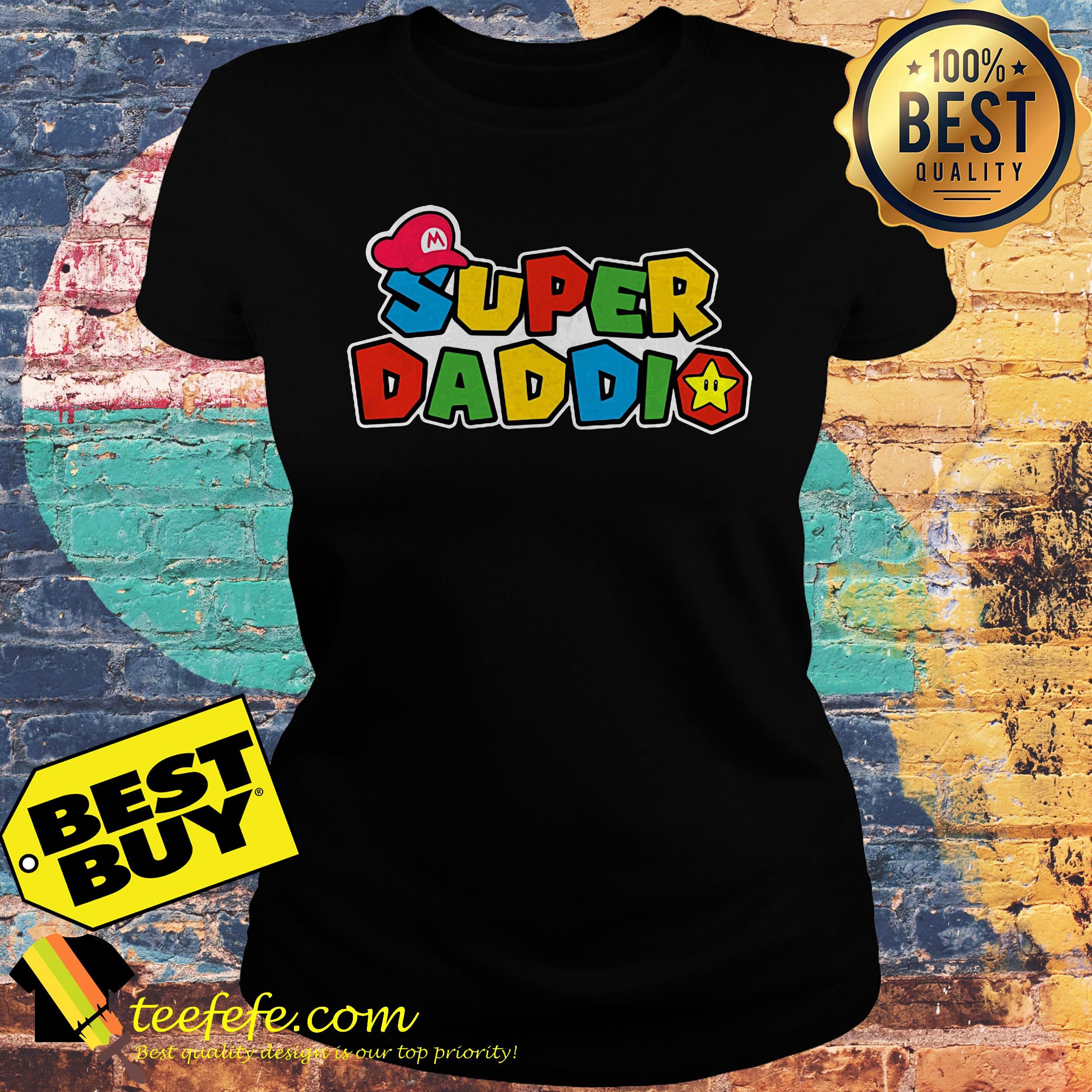 Super Daddio Super Mario ladies tee