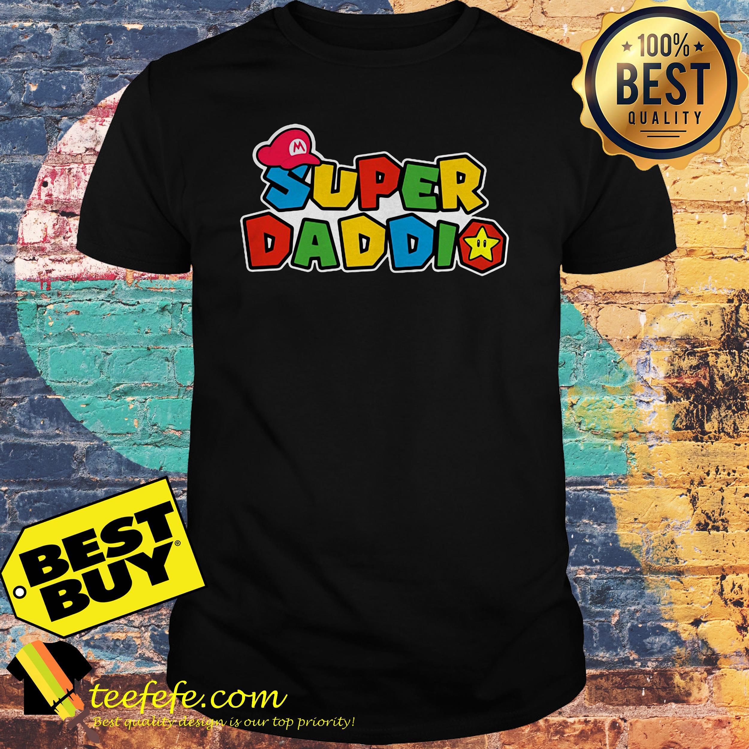 Super Daddio Super Mario Shirt