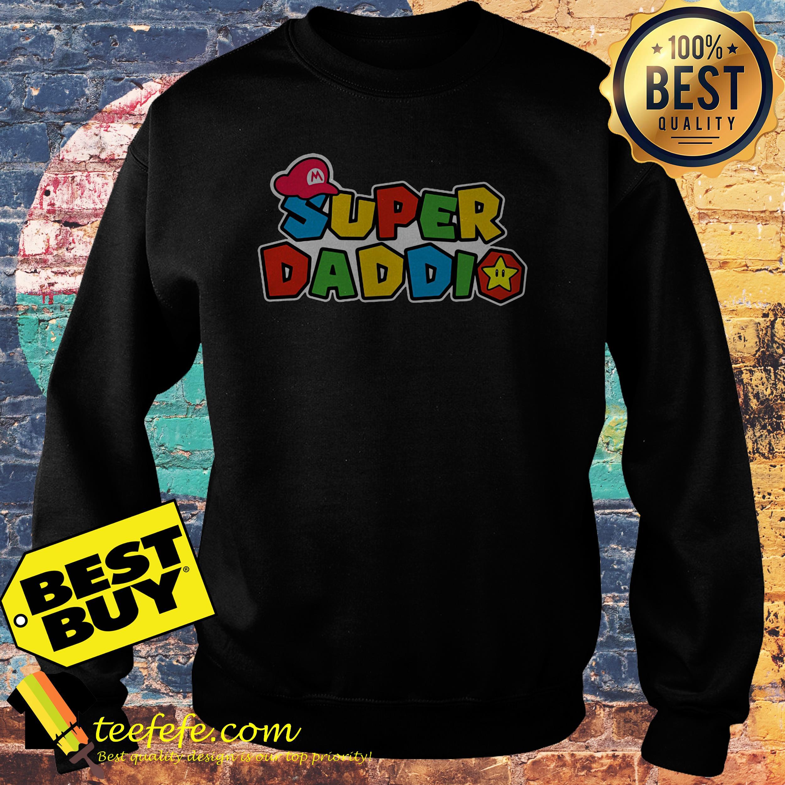 Super Daddio Super Mario sweatshirt