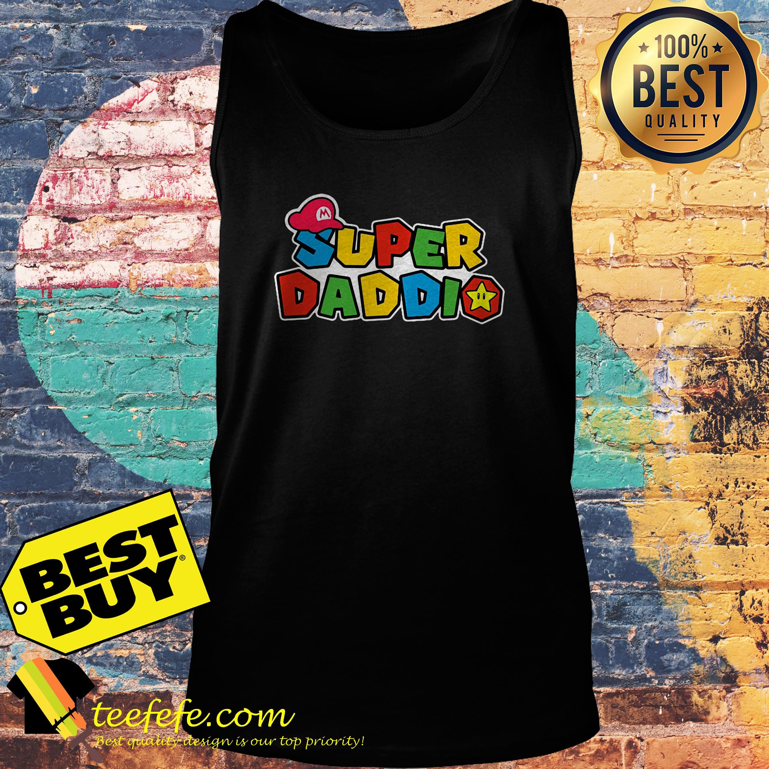 Super Daddio Super Mario tank top