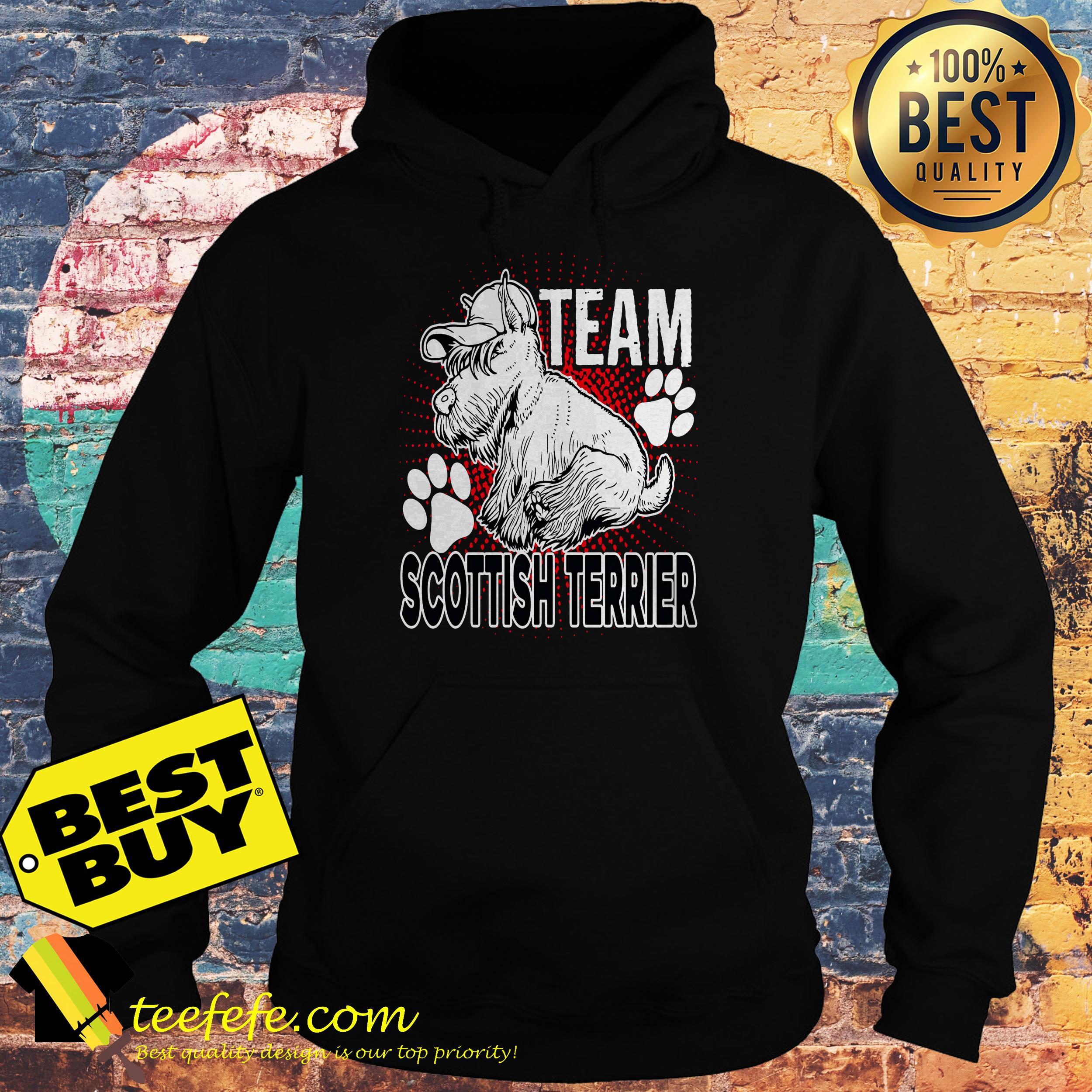 Team Scottish Terrier hoodie
