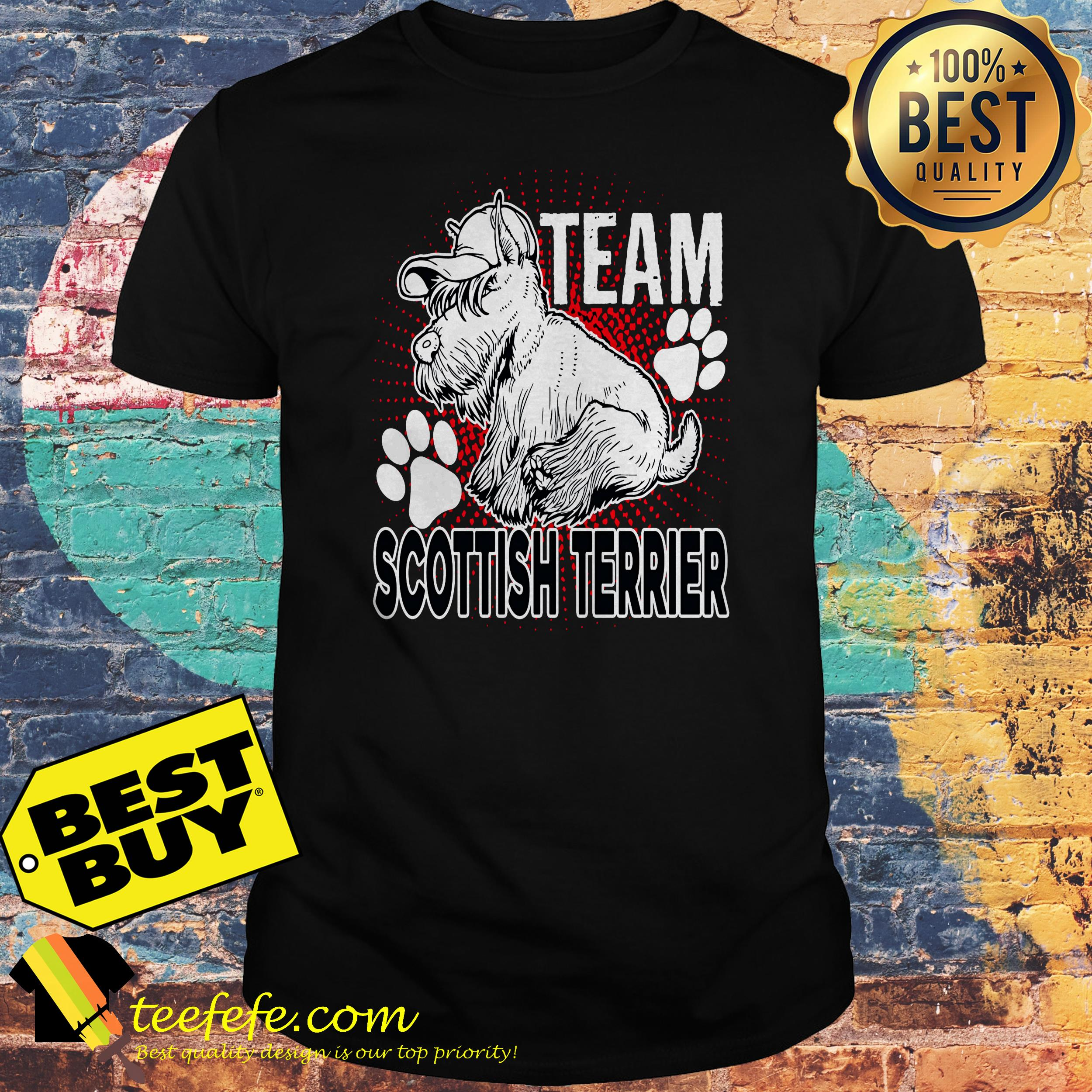 Team Scottish Terrier Shirt