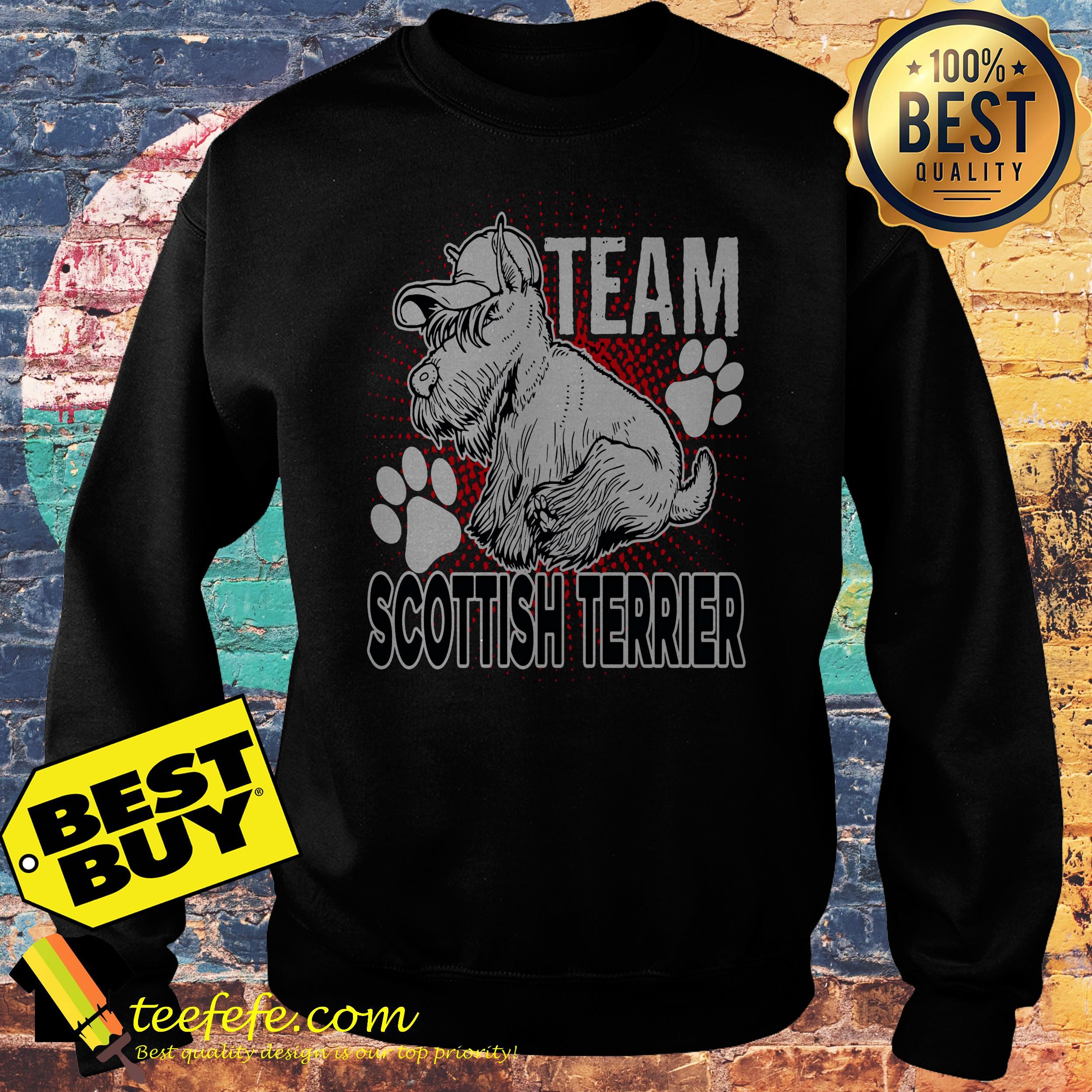 Team Scottish Terrier sweatshirt