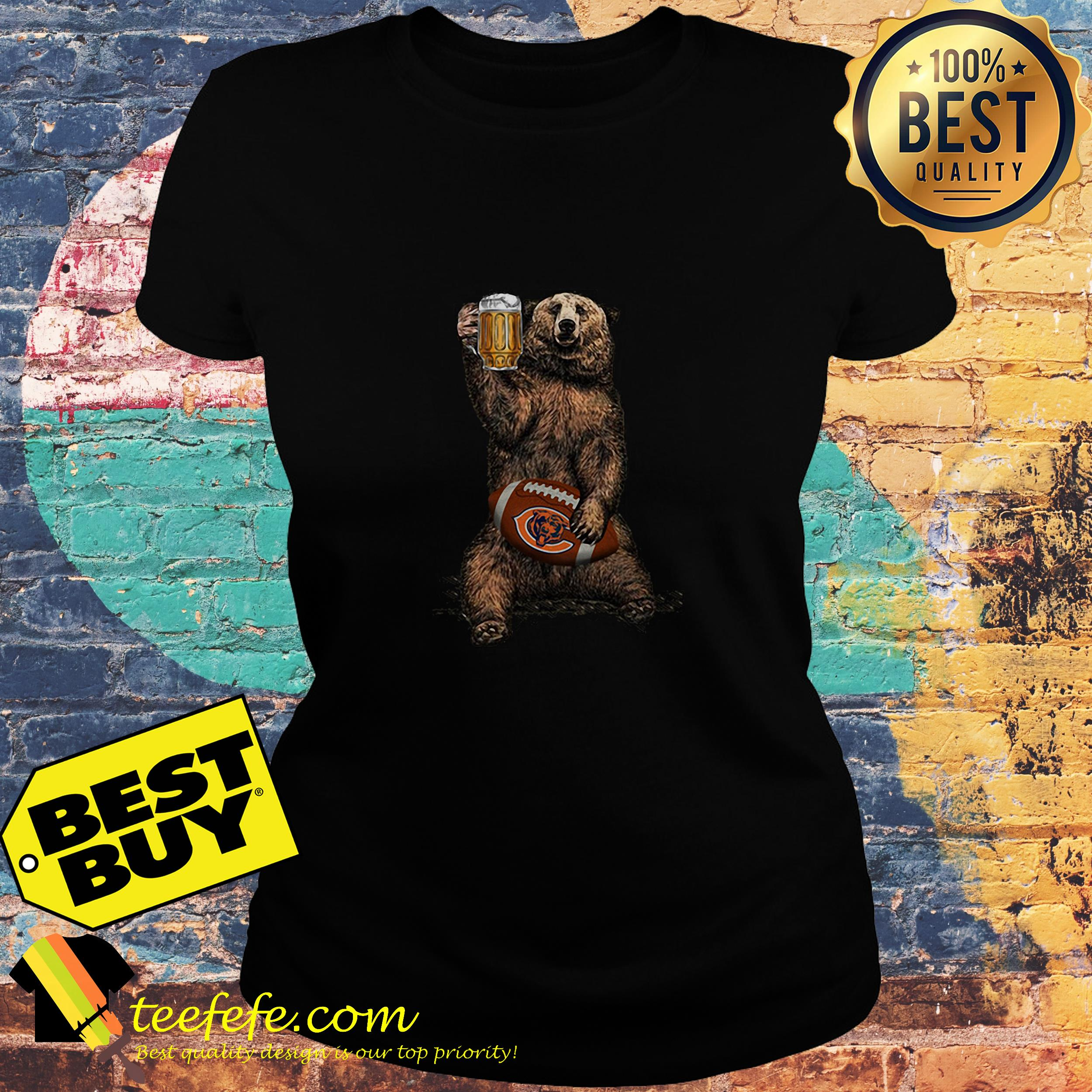 53a38deb Beer Bear Chicago Bears shirt