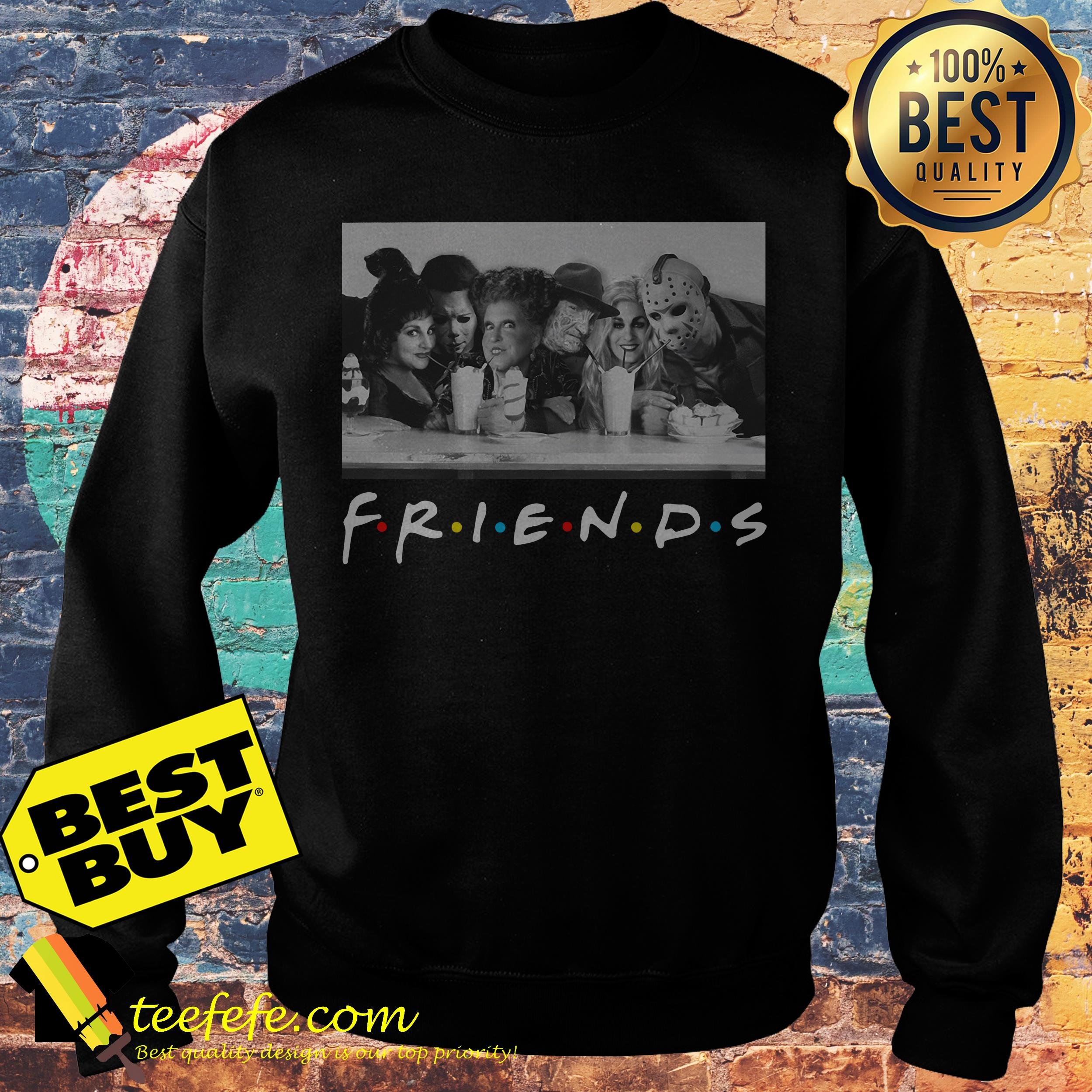 Halloween Friends Shirt.Hocus Pocus Horror Movie Friends Tv Show Halloween Shirt