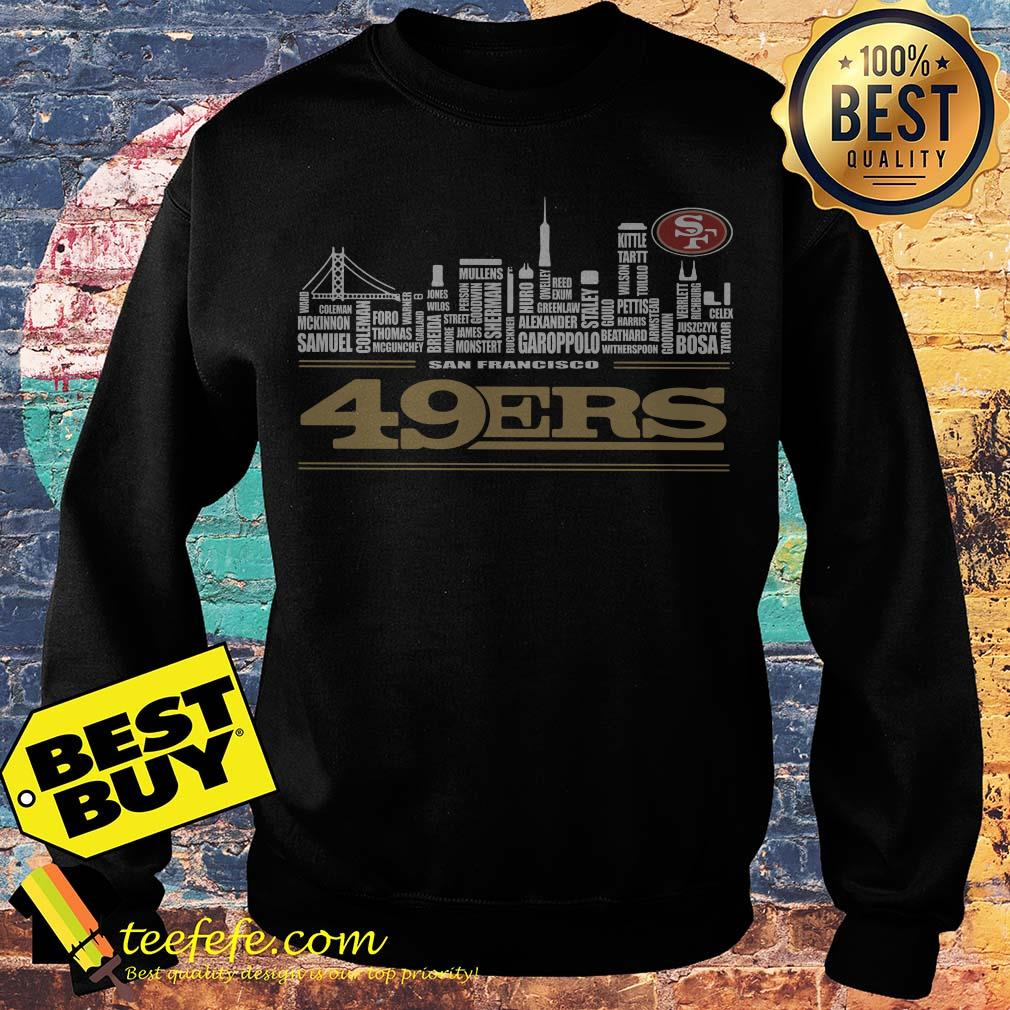 size 40 b6620 22171 Official San Francisco 49ers shirt
