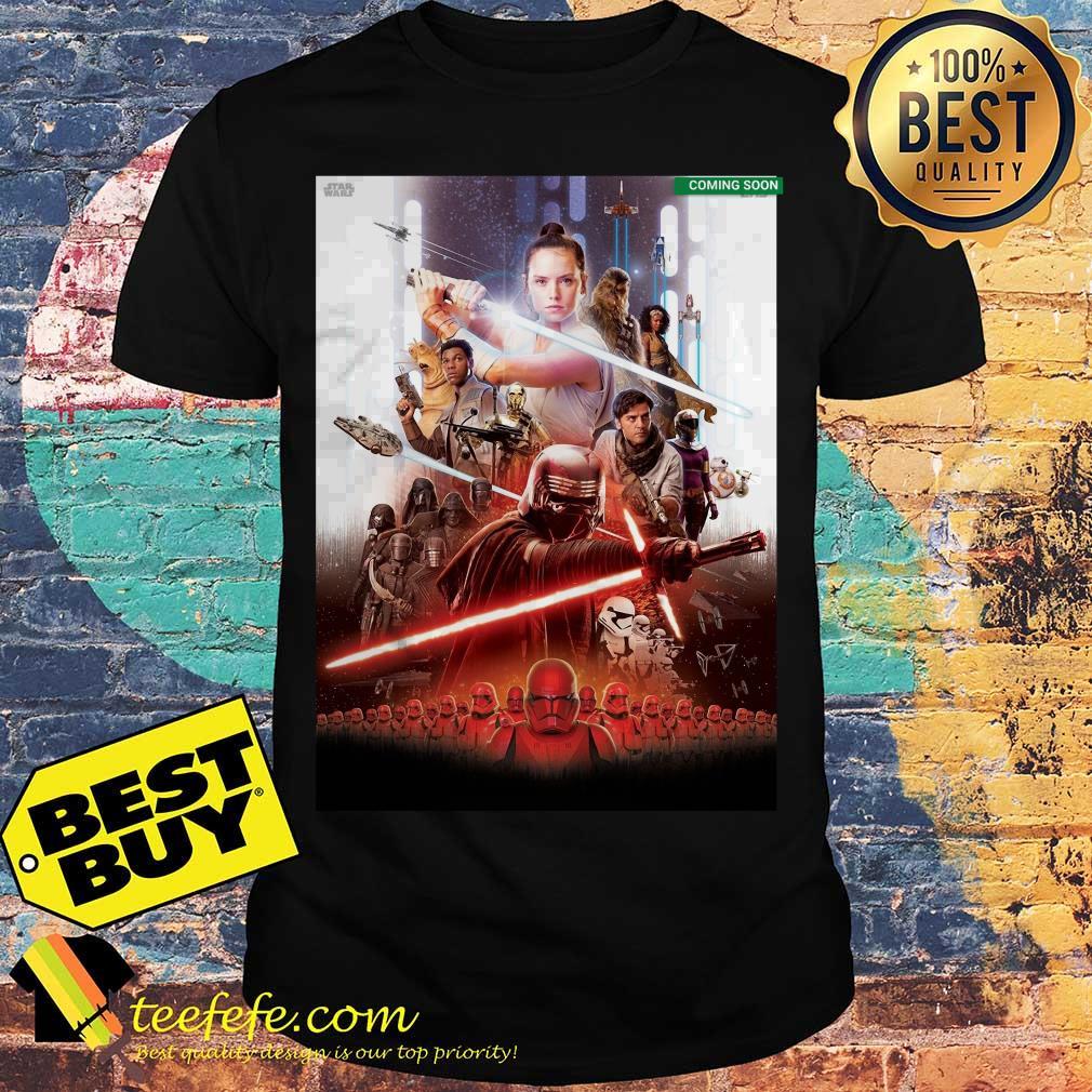 Star Wars Episode IX coming soon shirt