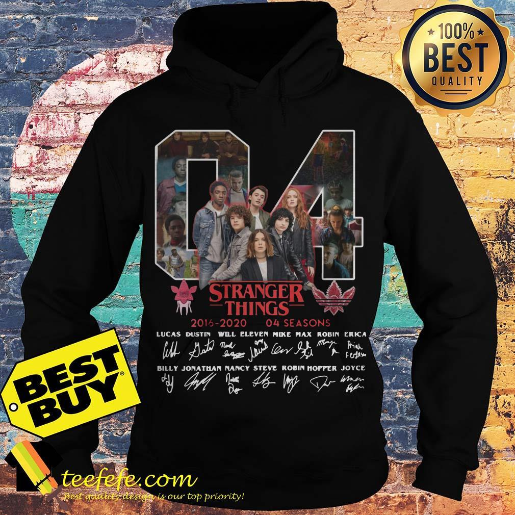 04 Stranger Things 2016-2020 04 Seasons Signatures Hoodies