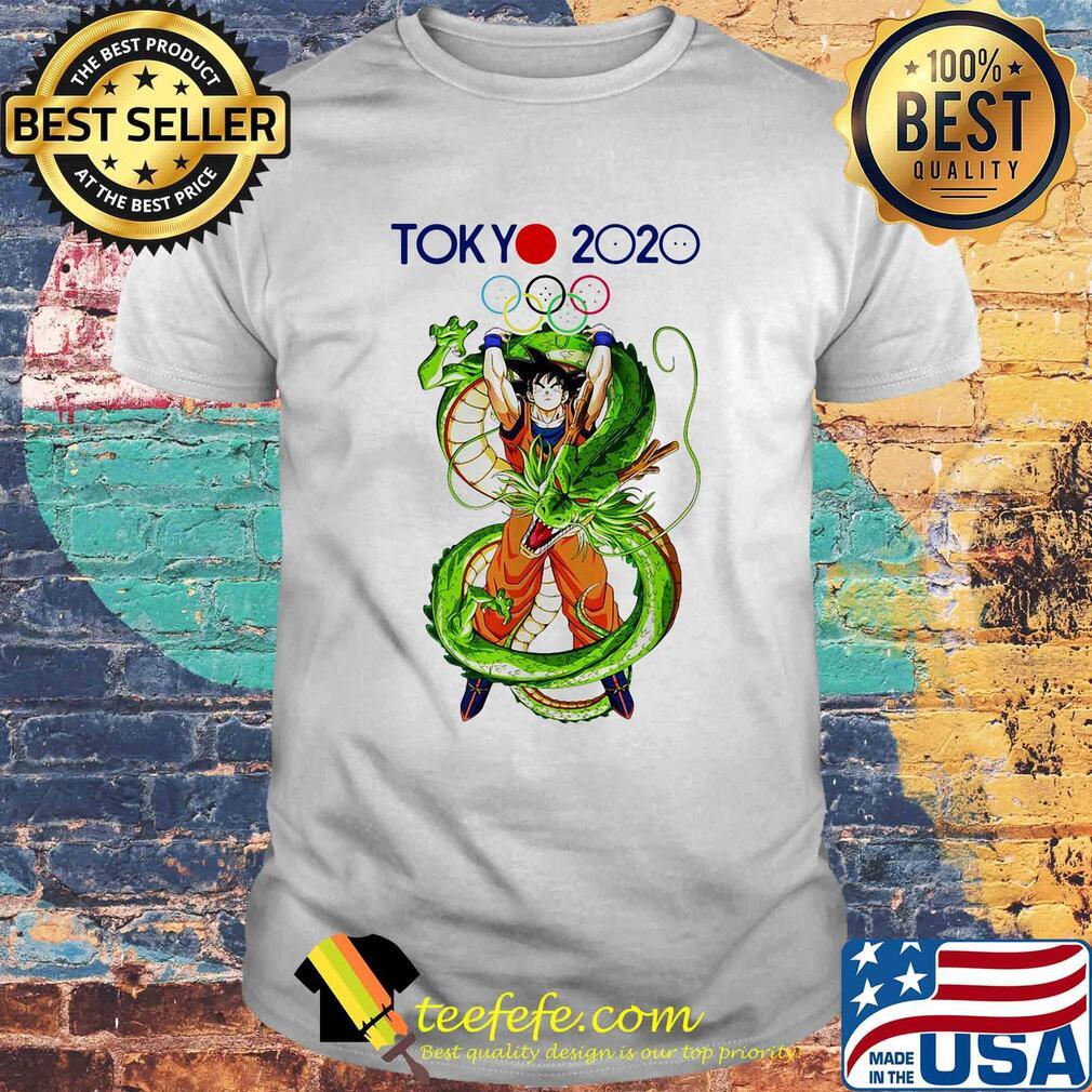 2020 Tokyo Olympics Dragon Ball shirt