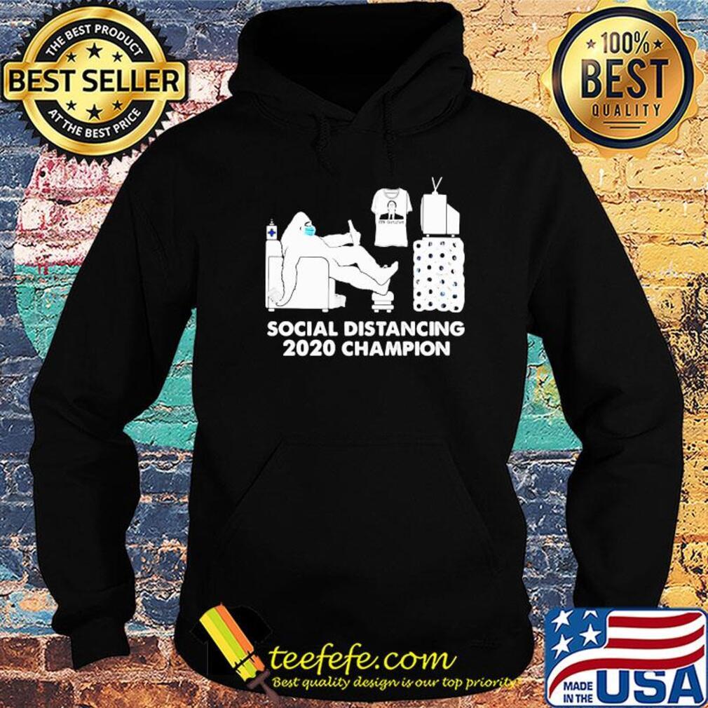 bigfoot social distancing 2020 champion covid 19 shirt