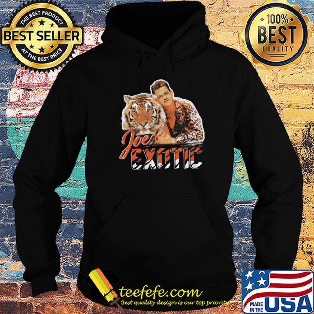 Lion Joe Exotic For Governor Shirt Hoodie