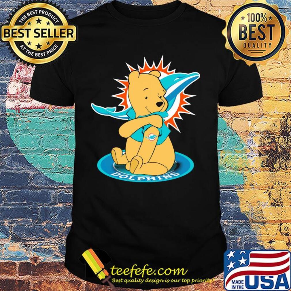 Pooh Tattoos Miami Dolphins Logo shirt