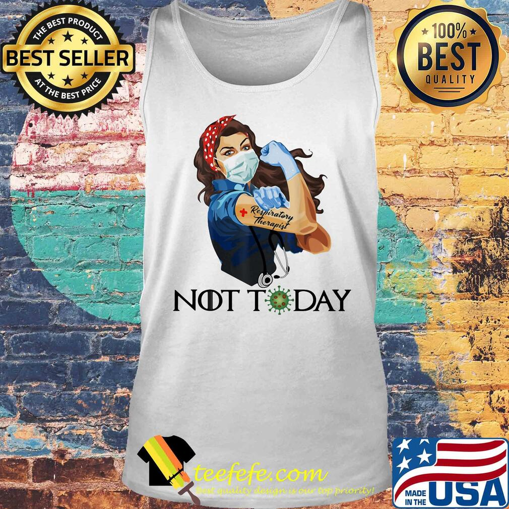 Resporatory Therapist Strong Nurse Shirt Tank top