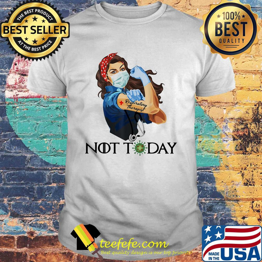 Resporatory Therapist Strong Nurse Shirt