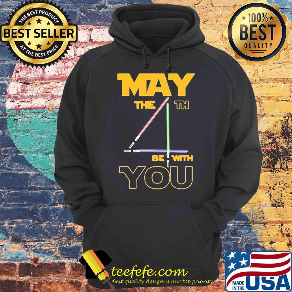 Star Wars May The 4th Be With You Light shirt