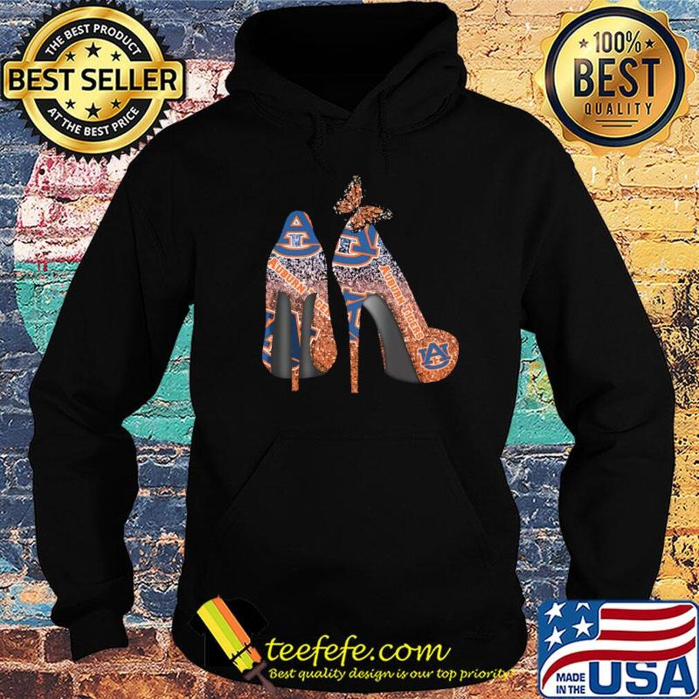 Butterfly Shoes Auburn Tigers Shirt Hoodie
