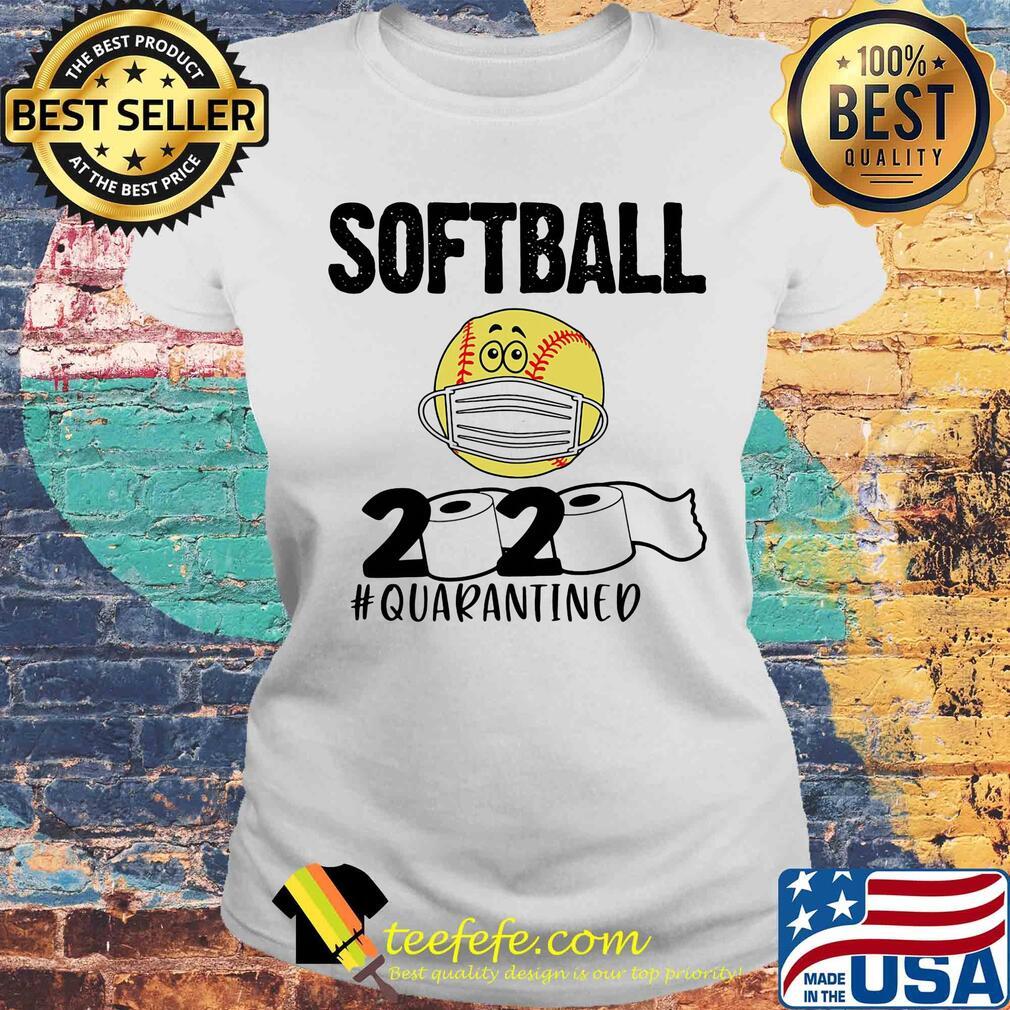Softball 2020 paper toilet quarantined covid-19 s Laides tee
