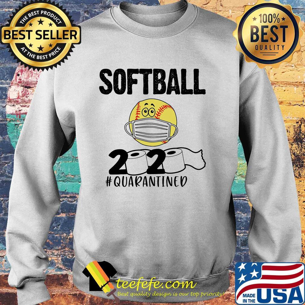 Softball 2020 paper toilet quarantined covid-19 s Sweater