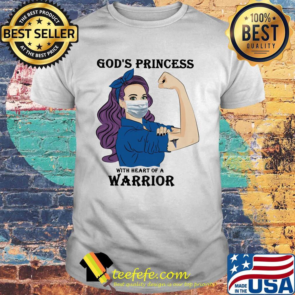 Strong woman tattoo caduceus logo god's princess with heart of a warrior shirt