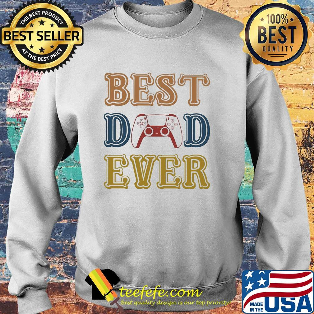 Game best dad ever happy father's day vintage s Sweater