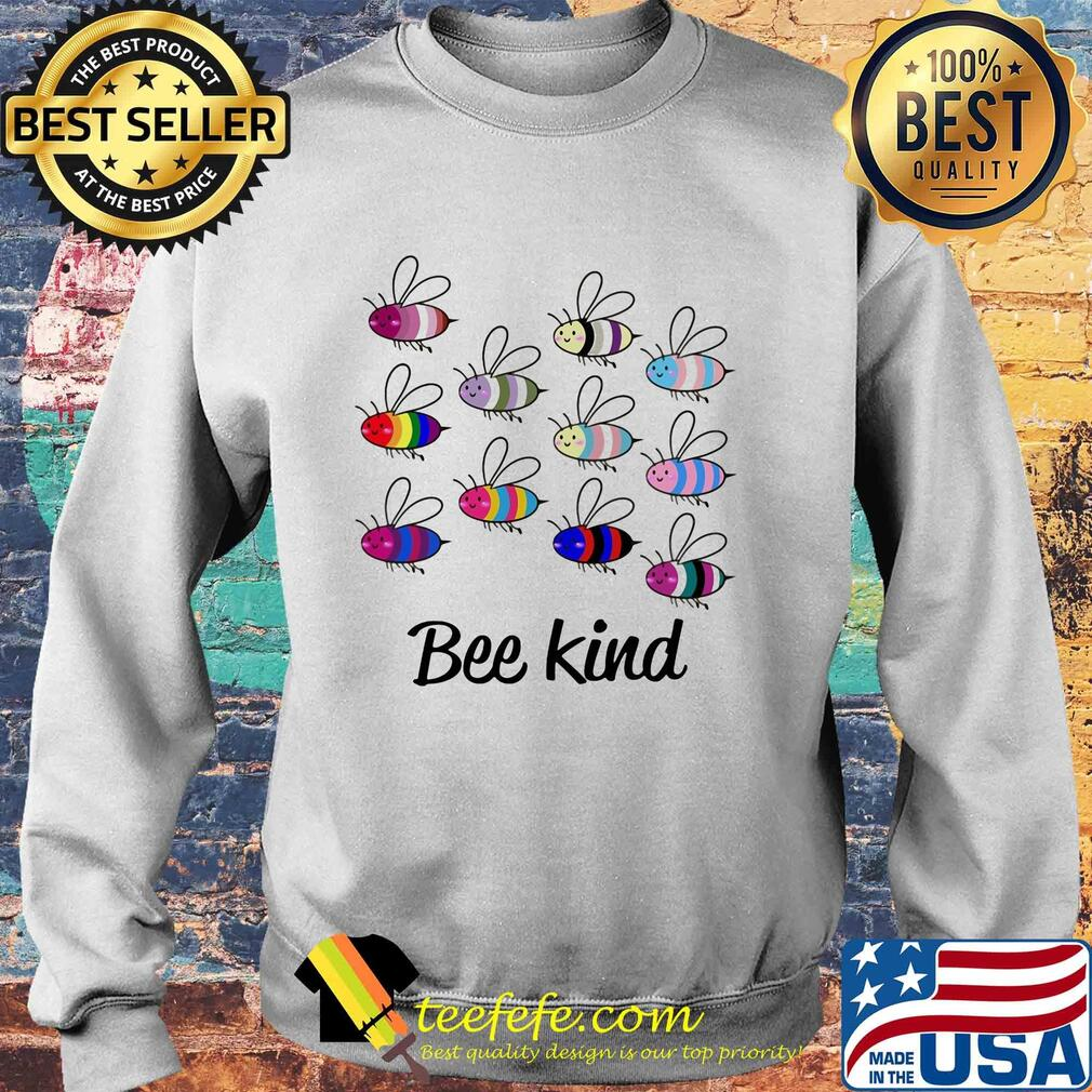 Official lgbt bee kind s Sweater