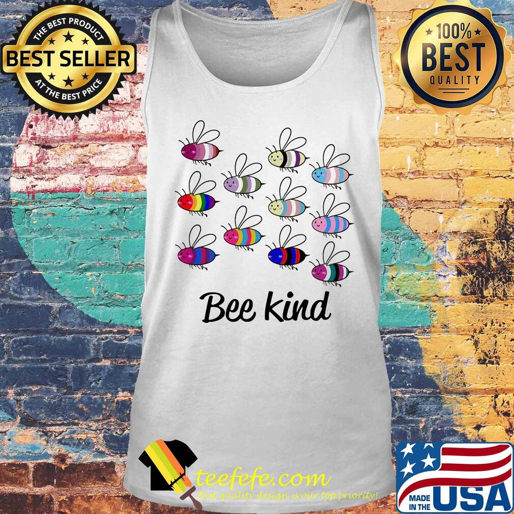 Official lgbt bee kind s Tank top