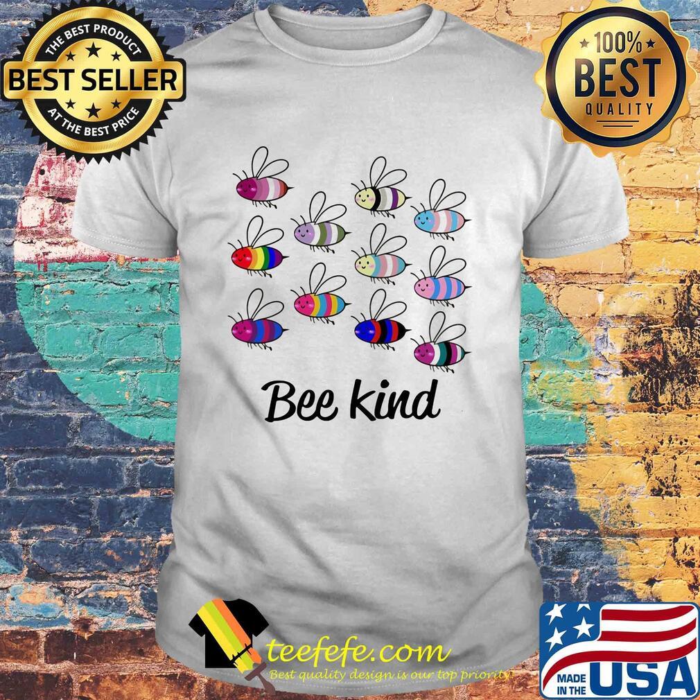 Official lgbt bee kind shirt