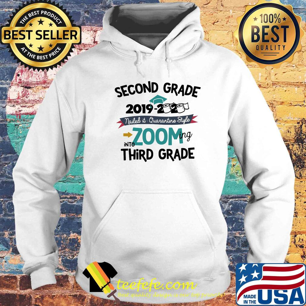 Second grade 2019 2020 toilet paper nailed it quarantine style into zooming kindergarten s Hoodie