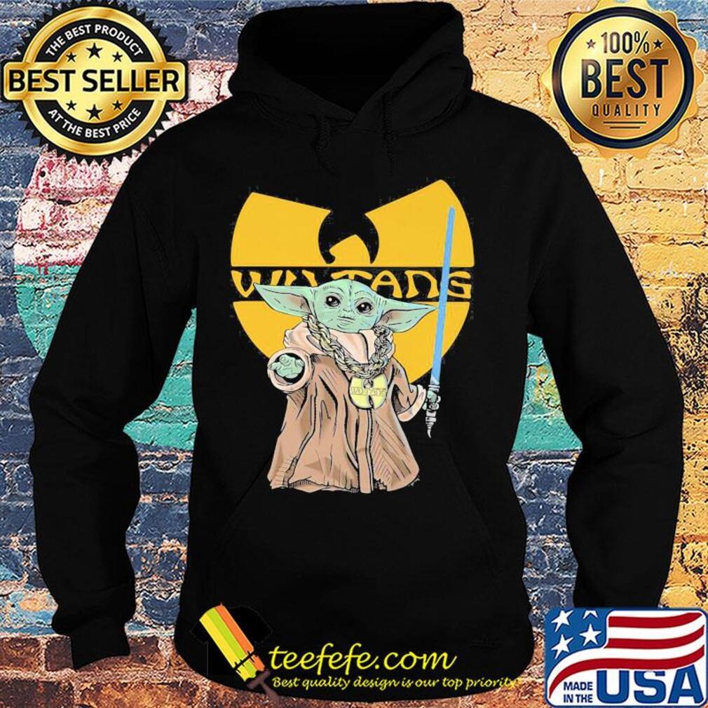 Star wars master yoda wu tang logo s Hoodie