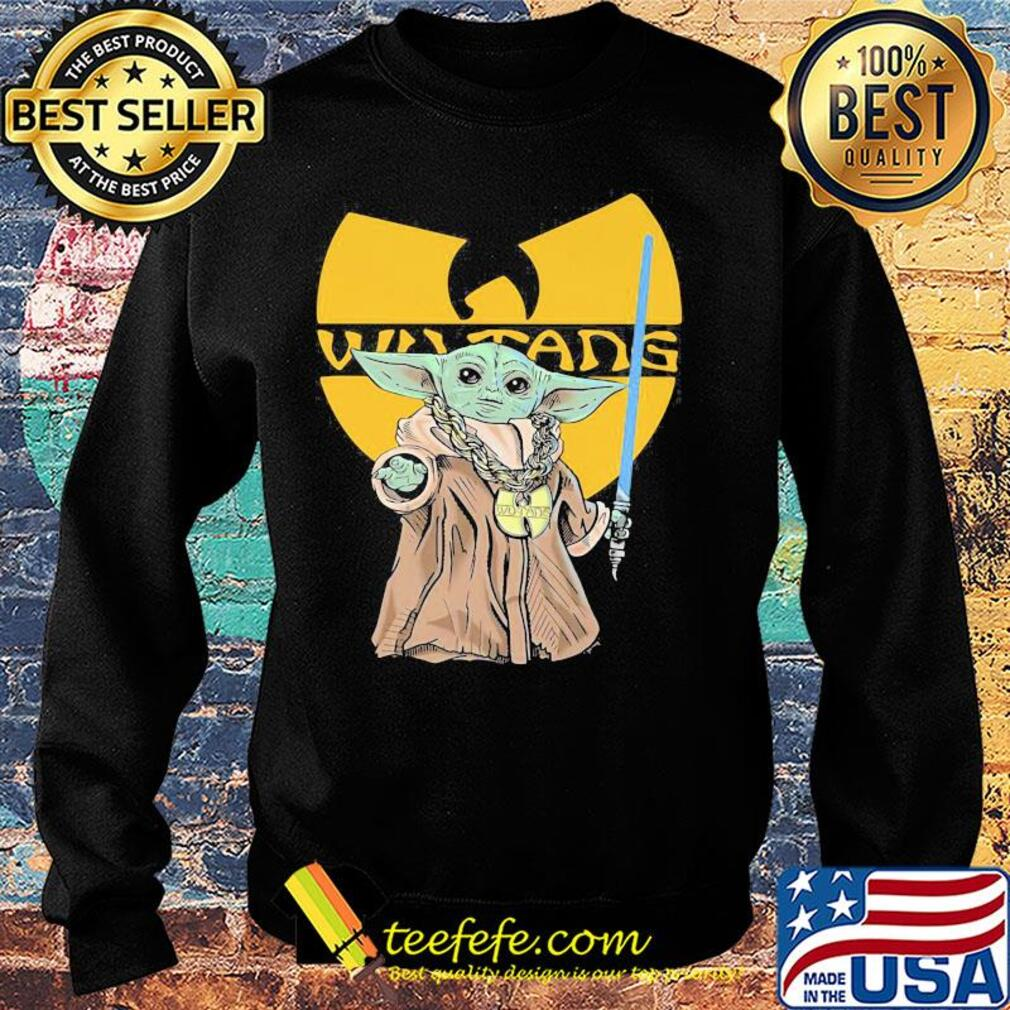 Star wars master yoda wu tang logo s Sweater
