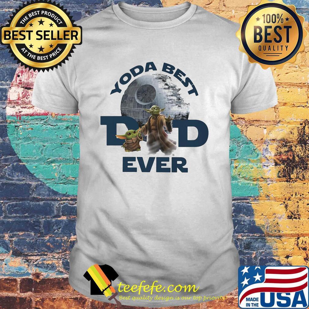 Star wars yoda best dad ever shirt