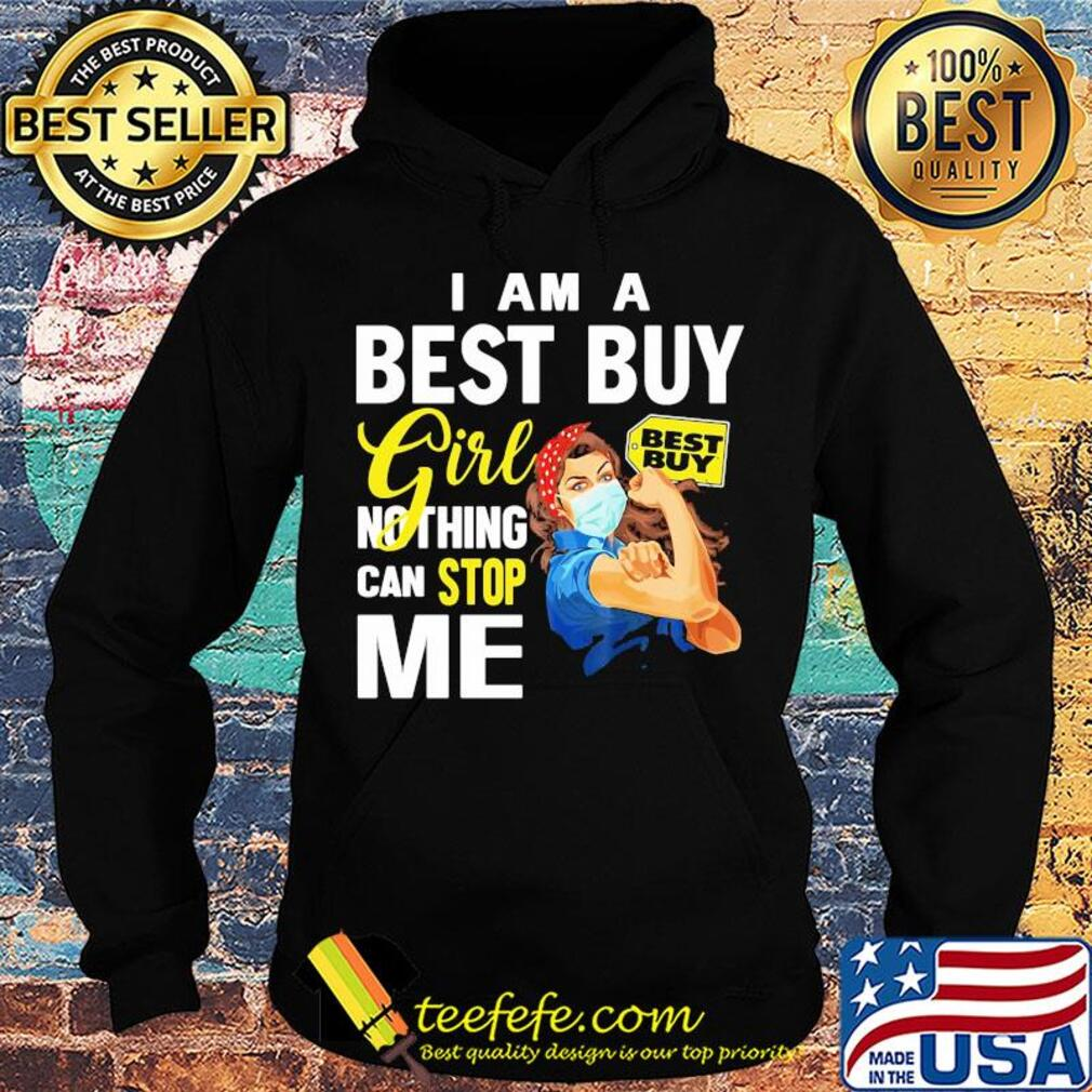 Strong woman mask I am a best guy girl nothing can stop me s Hoodie