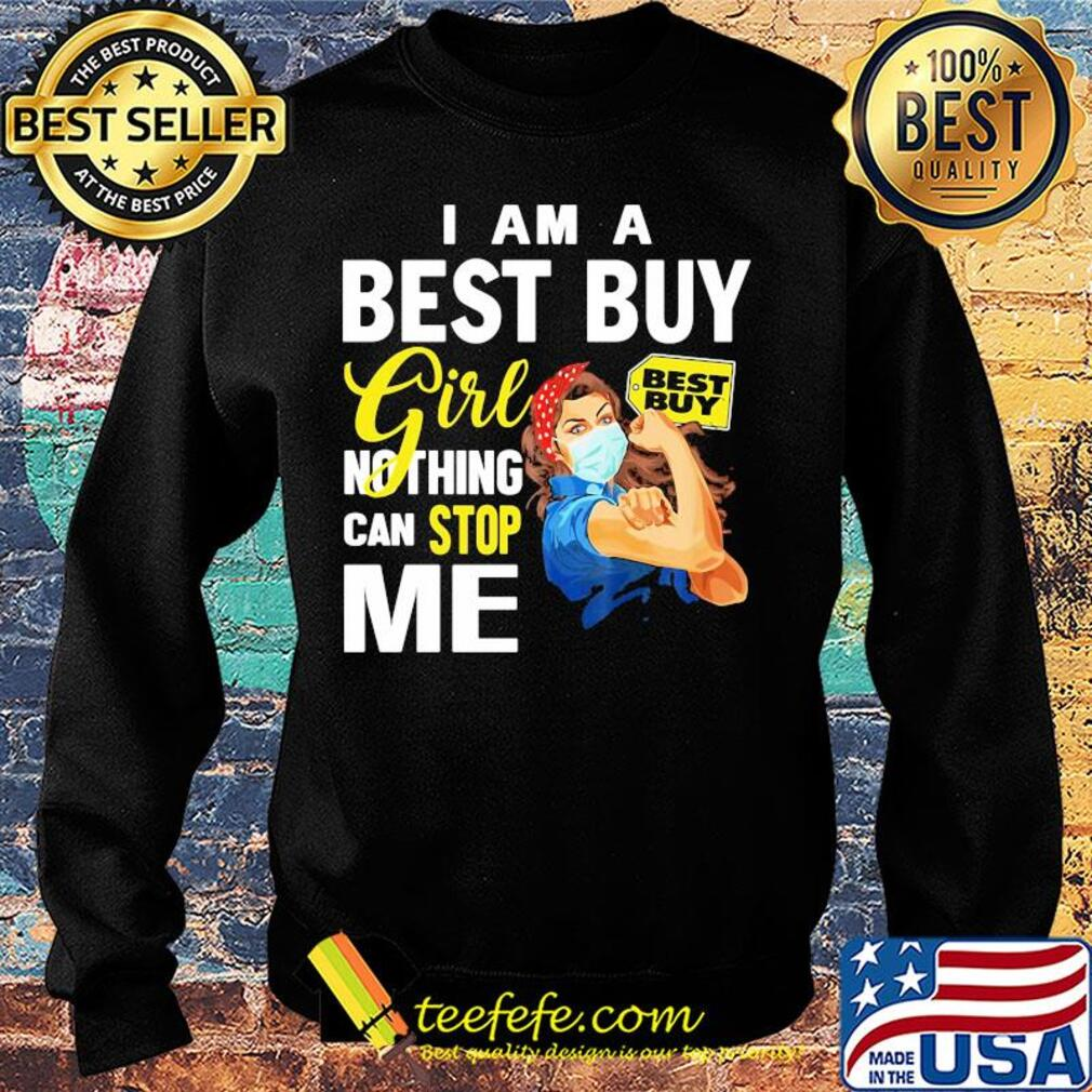 Strong woman mask I am a best guy girl nothing can stop me s Sweater