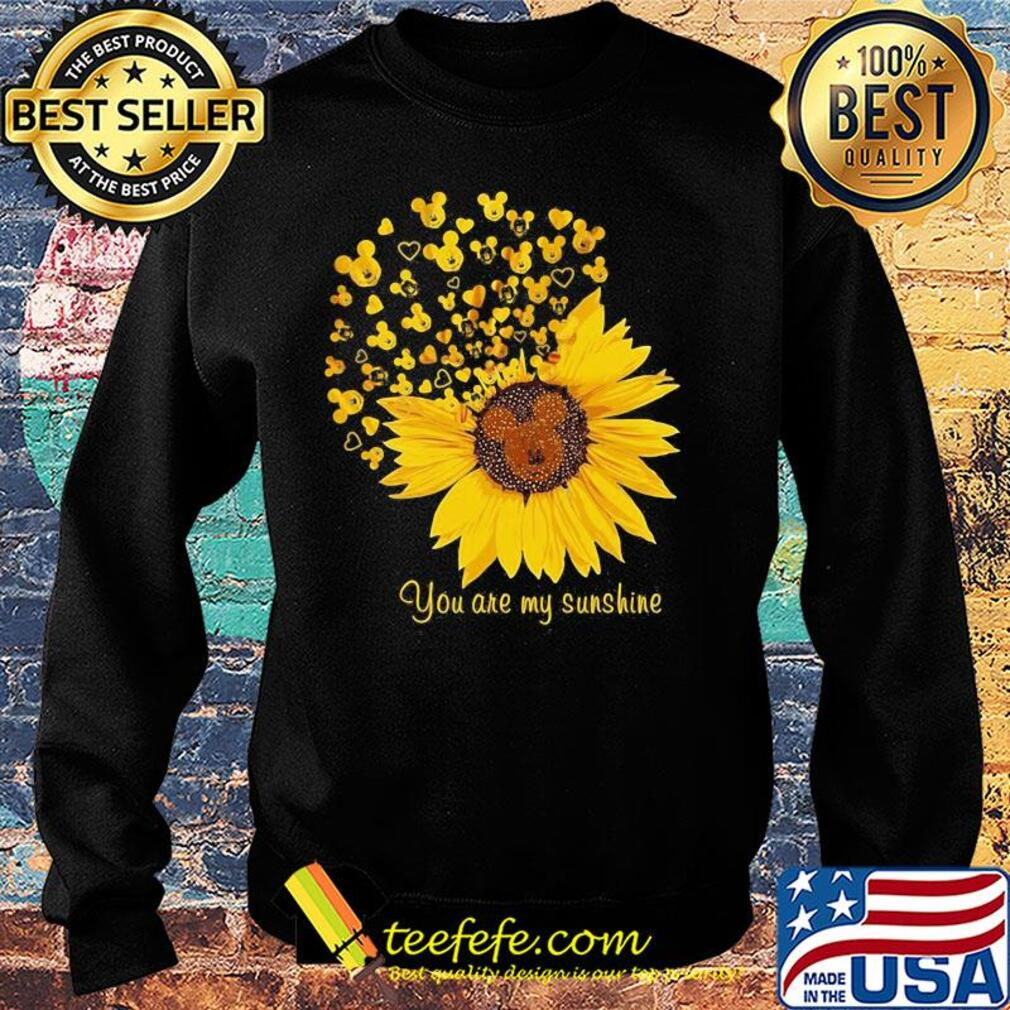 Sunflower mickey mouse you are my sunshine s Sweater