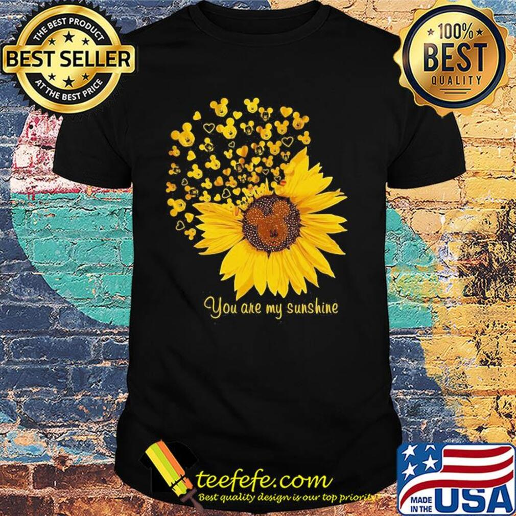 Sunflower mickey mouse you are my sunshine shirt