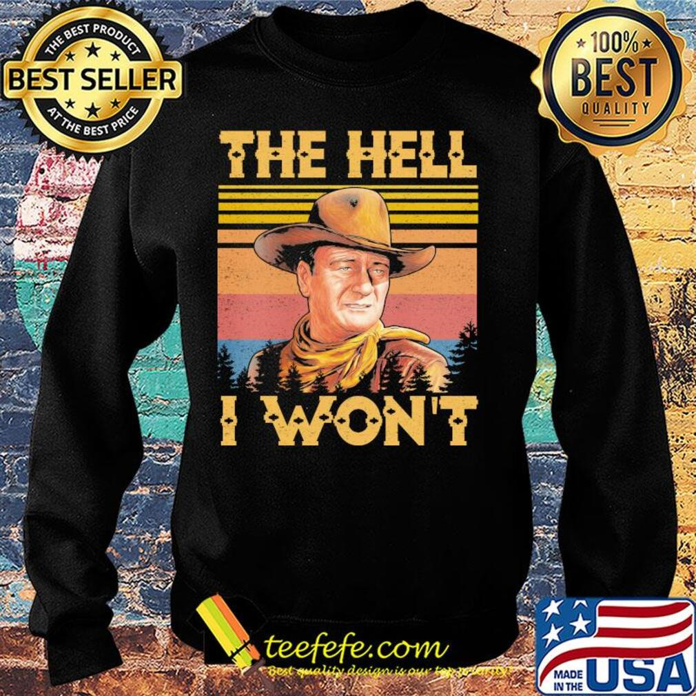 The hell I won't vintage s Sweater