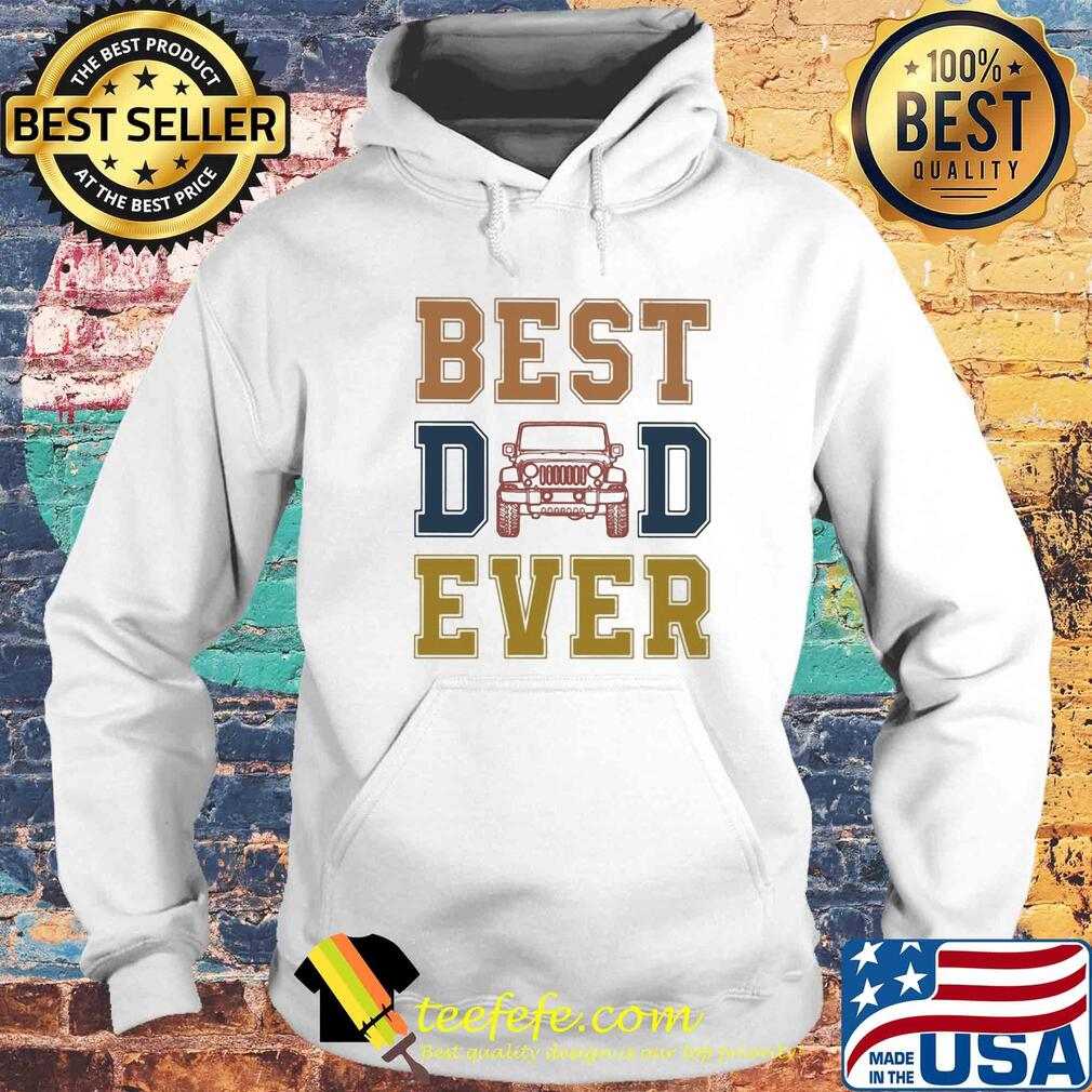 Trucker best dad ever happy father's day vintage s Hoodie