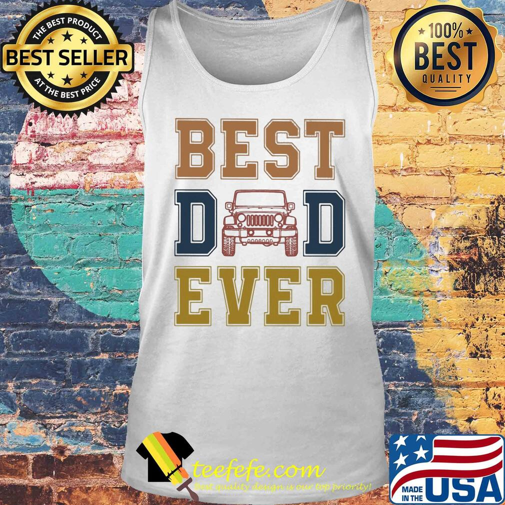 Trucker best dad ever happy father's day vintage s Tank top