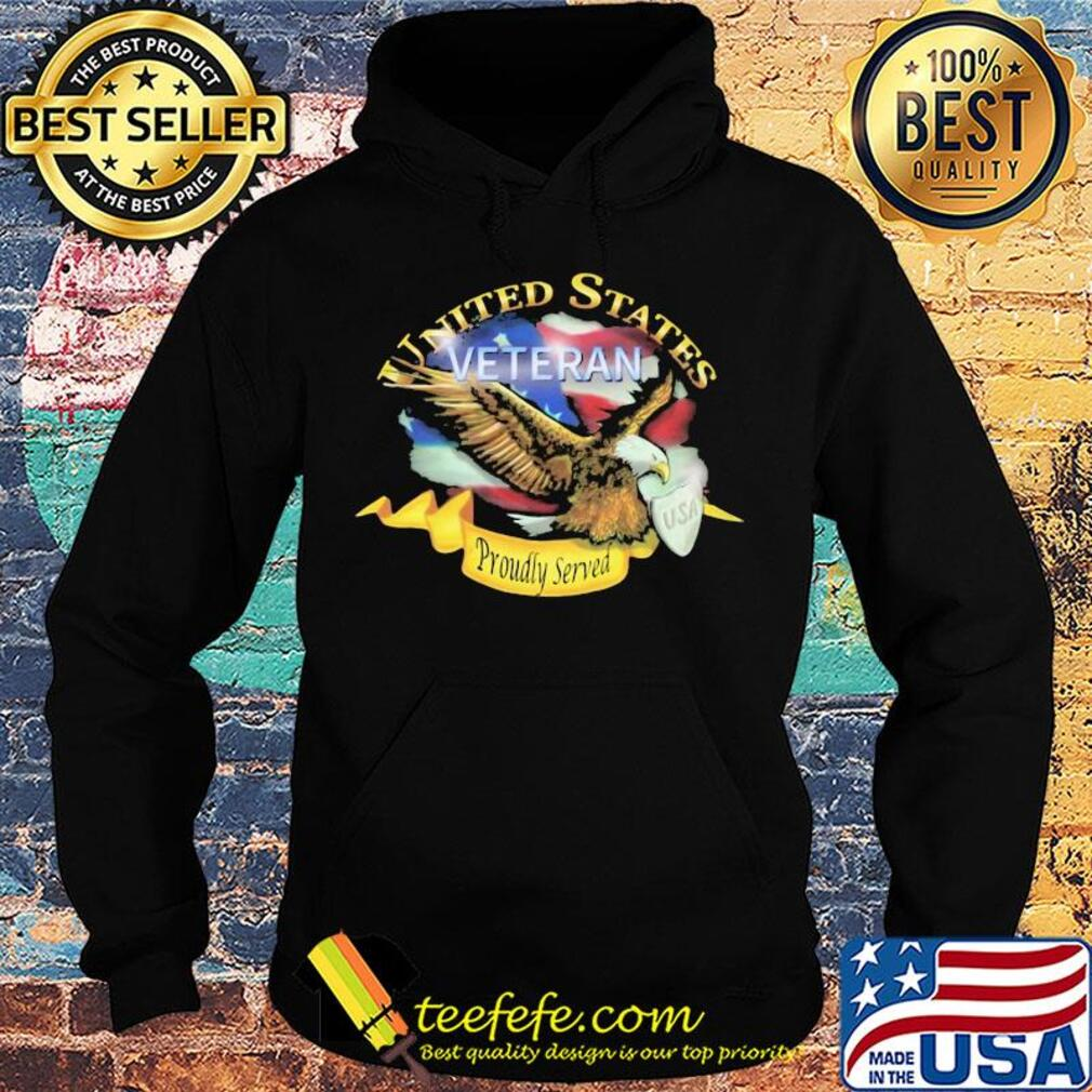 United states veteran proudly served US American flag veteran Independence Day s Hoodie