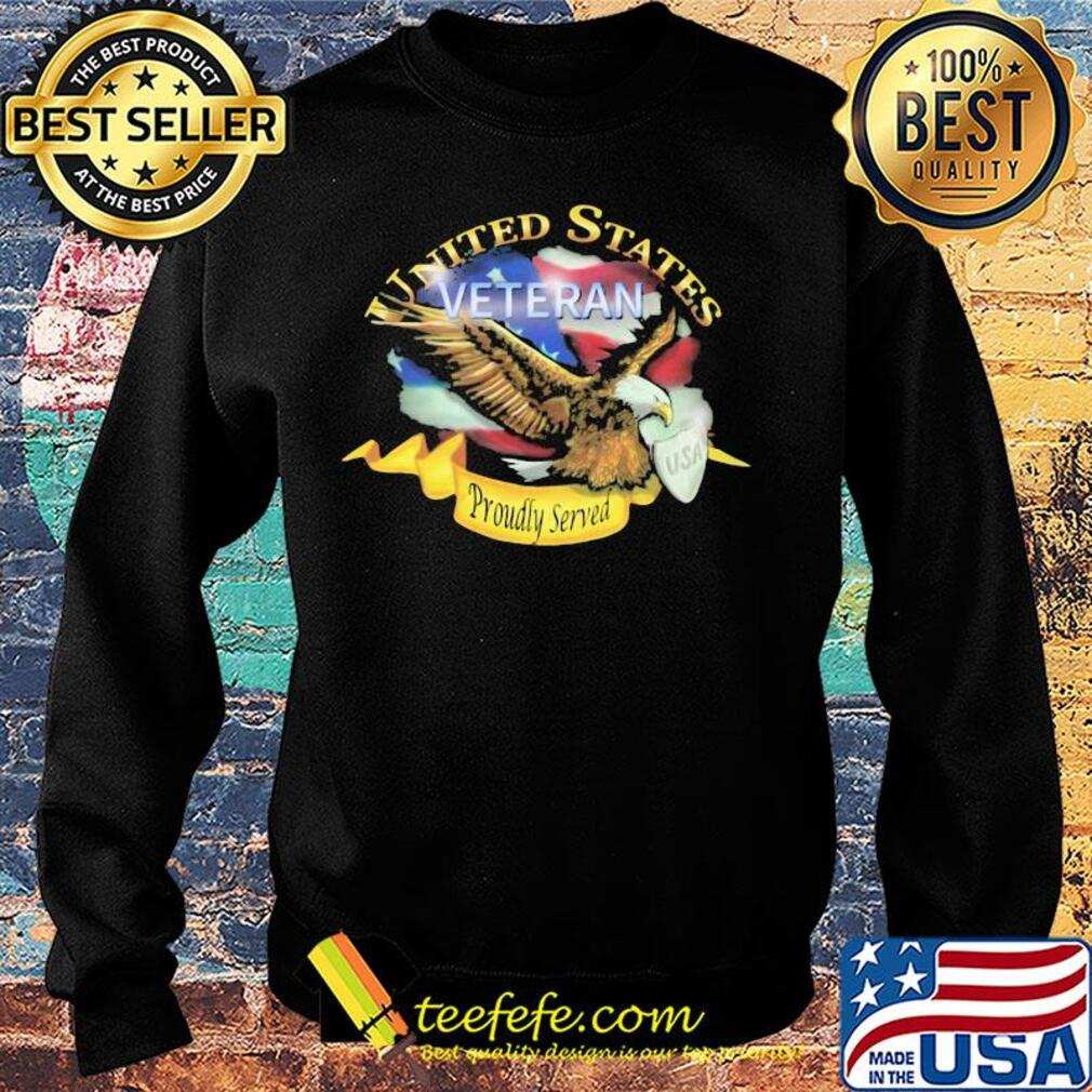United states veteran proudly served US American flag veteran Independence Day s Sweater