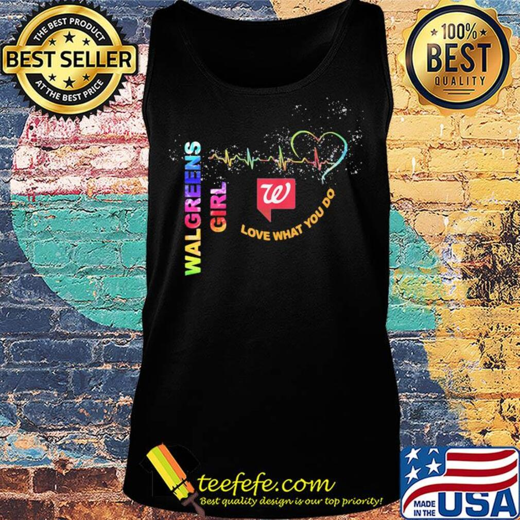 Walgreens girl love what you do heartbeat s Tank top