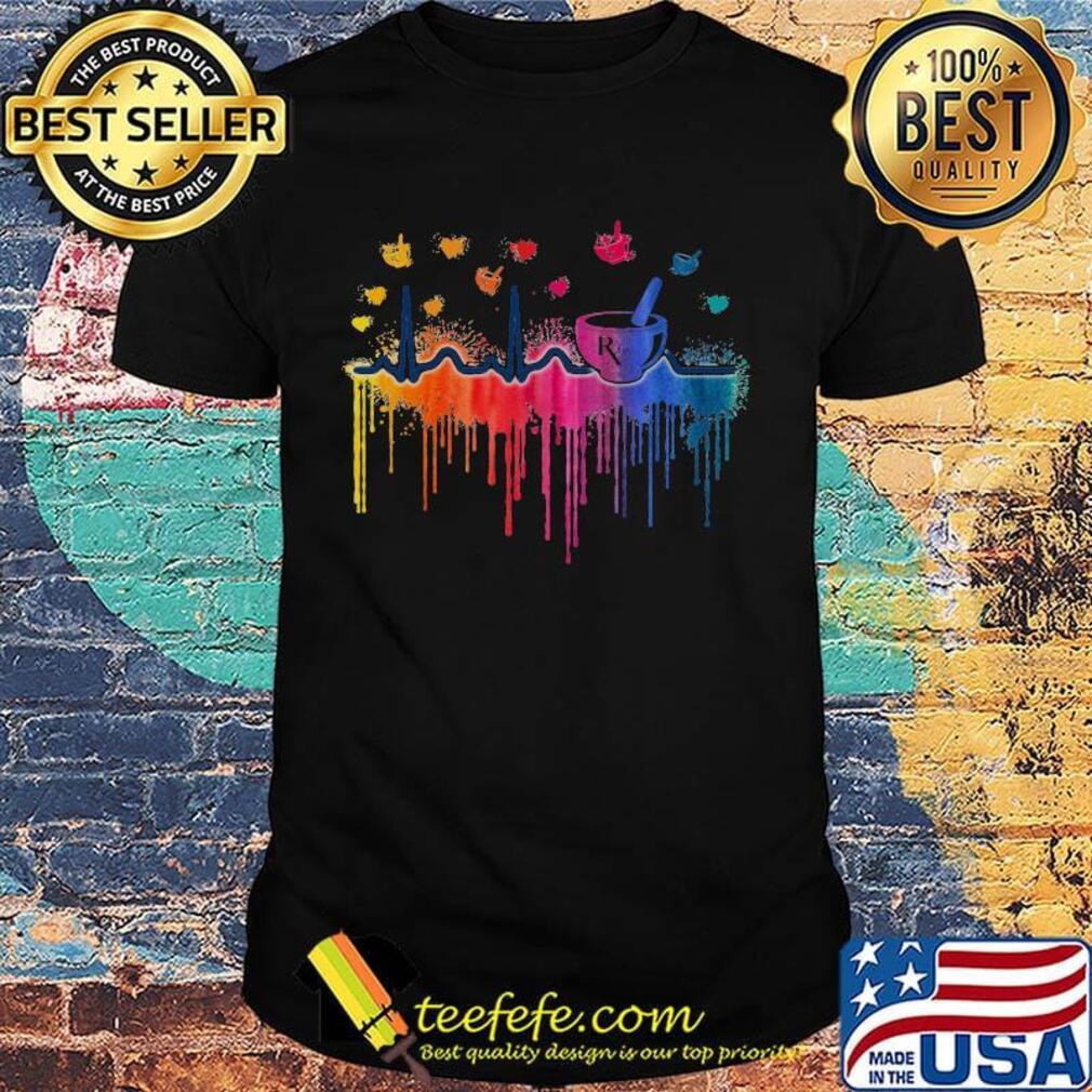 Beat Mortar And Pestle Pharmacy Paint Shirt