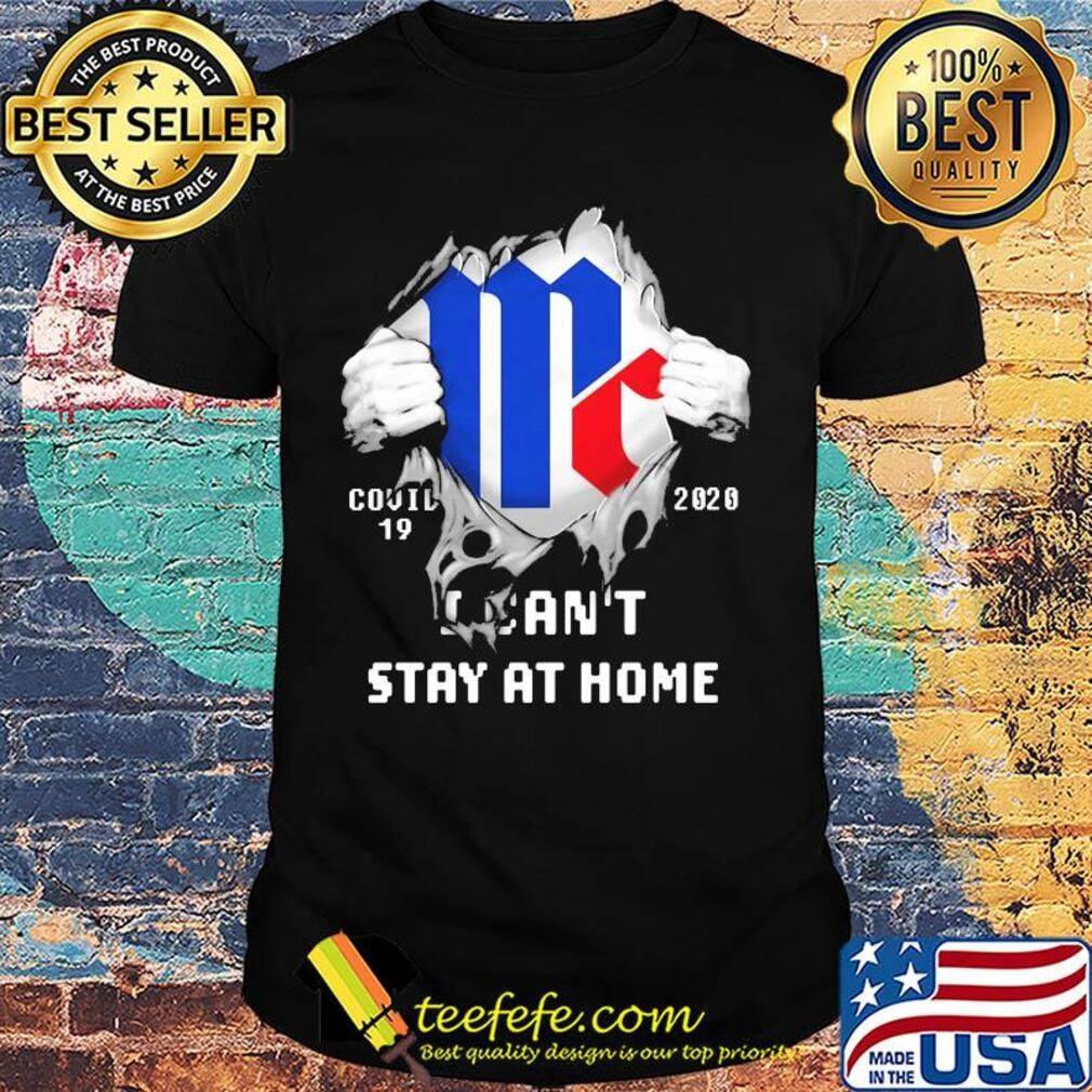 Blood insides mccormick covid-19 2020 I can't stay at home shirt